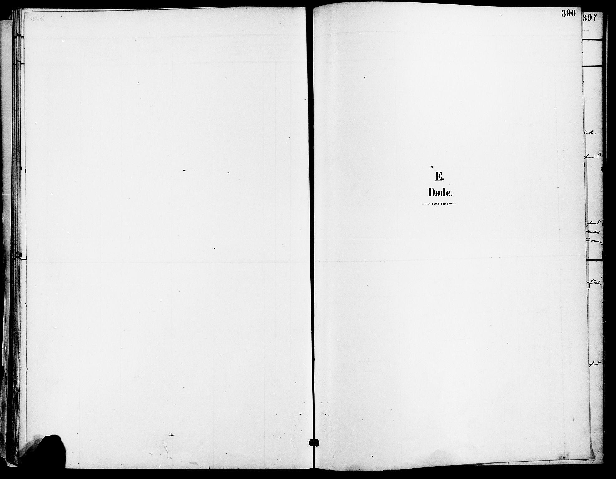SAO, Gamle Aker prestekontor Kirkebøker, F/L0011: Ministerialbok nr. 11, 1896-1901, s. 396