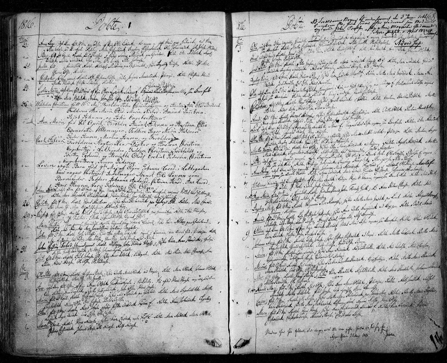 SAO, Aker prestekontor kirkebøker, F/L0011: Ministerialbok nr. 11, 1810-1819, s. 68