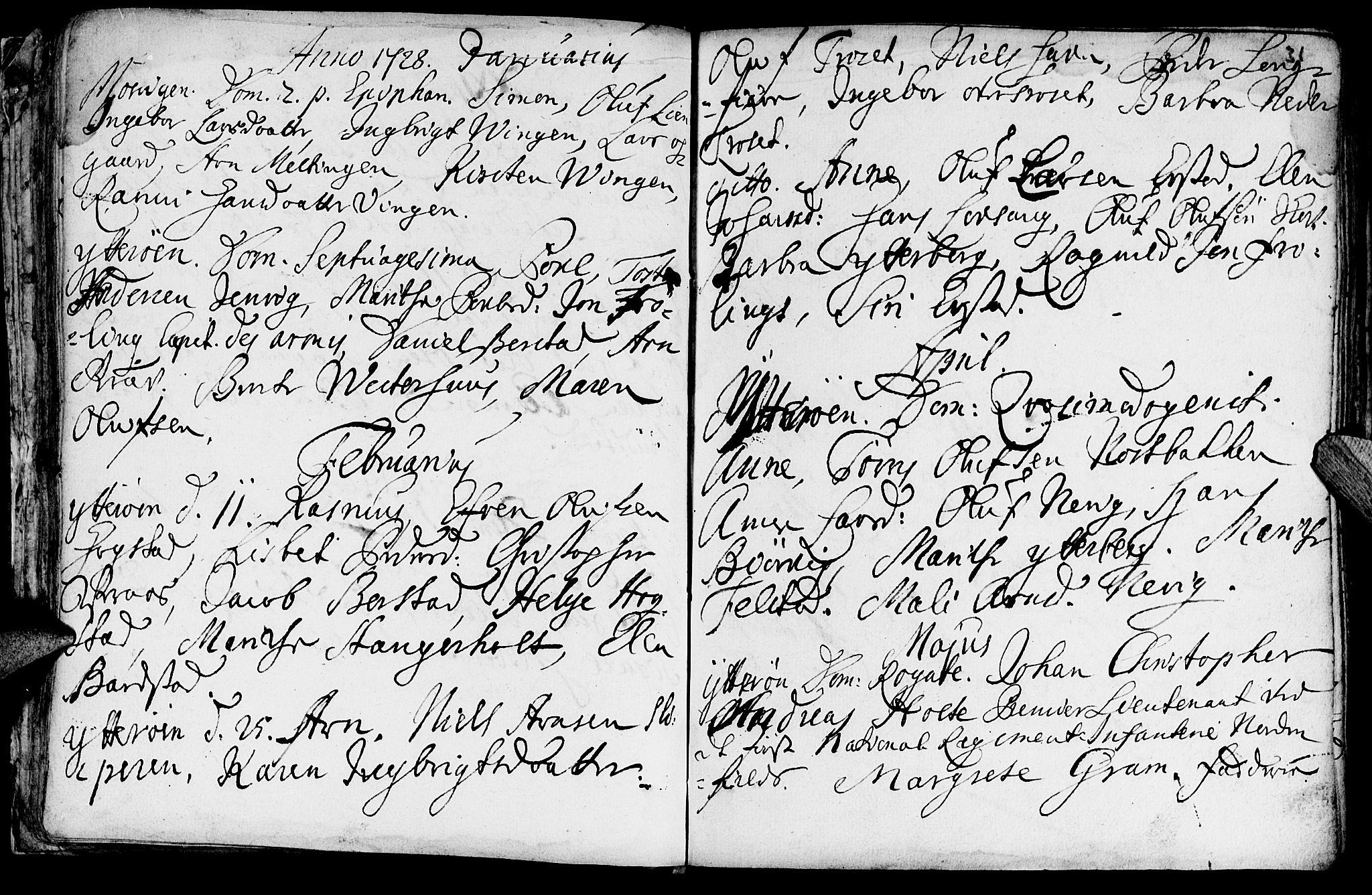 SAT, Ministerialprotokoller, klokkerbøker og fødselsregistre - Nord-Trøndelag, 722/L0215: Ministerialbok nr. 722A02, 1718-1755, s. 31