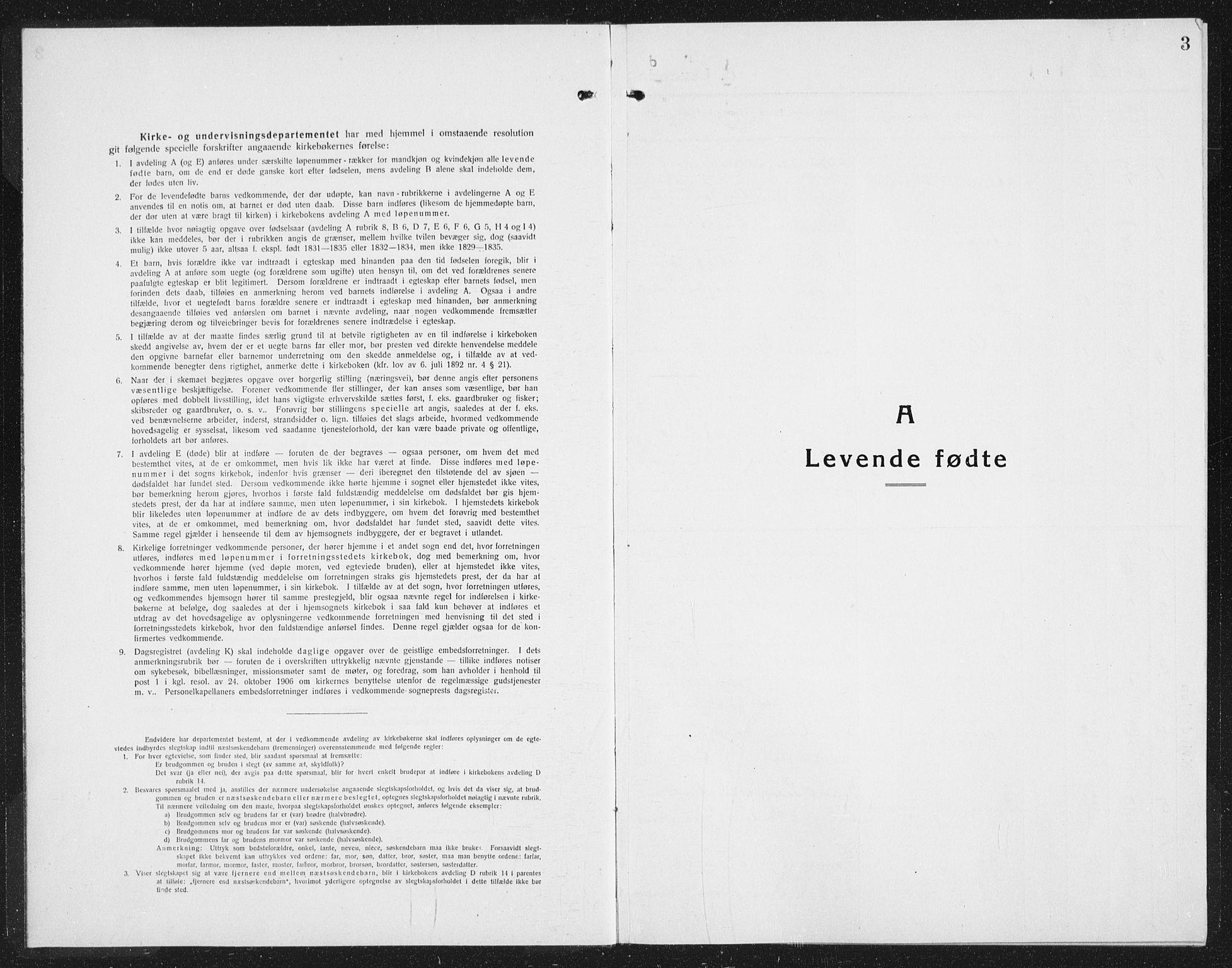 SAST, Kopervik sokneprestkontor, H/Ha/Hab/L0006: Klokkerbok nr. B 6, 1918-1942, s. 3