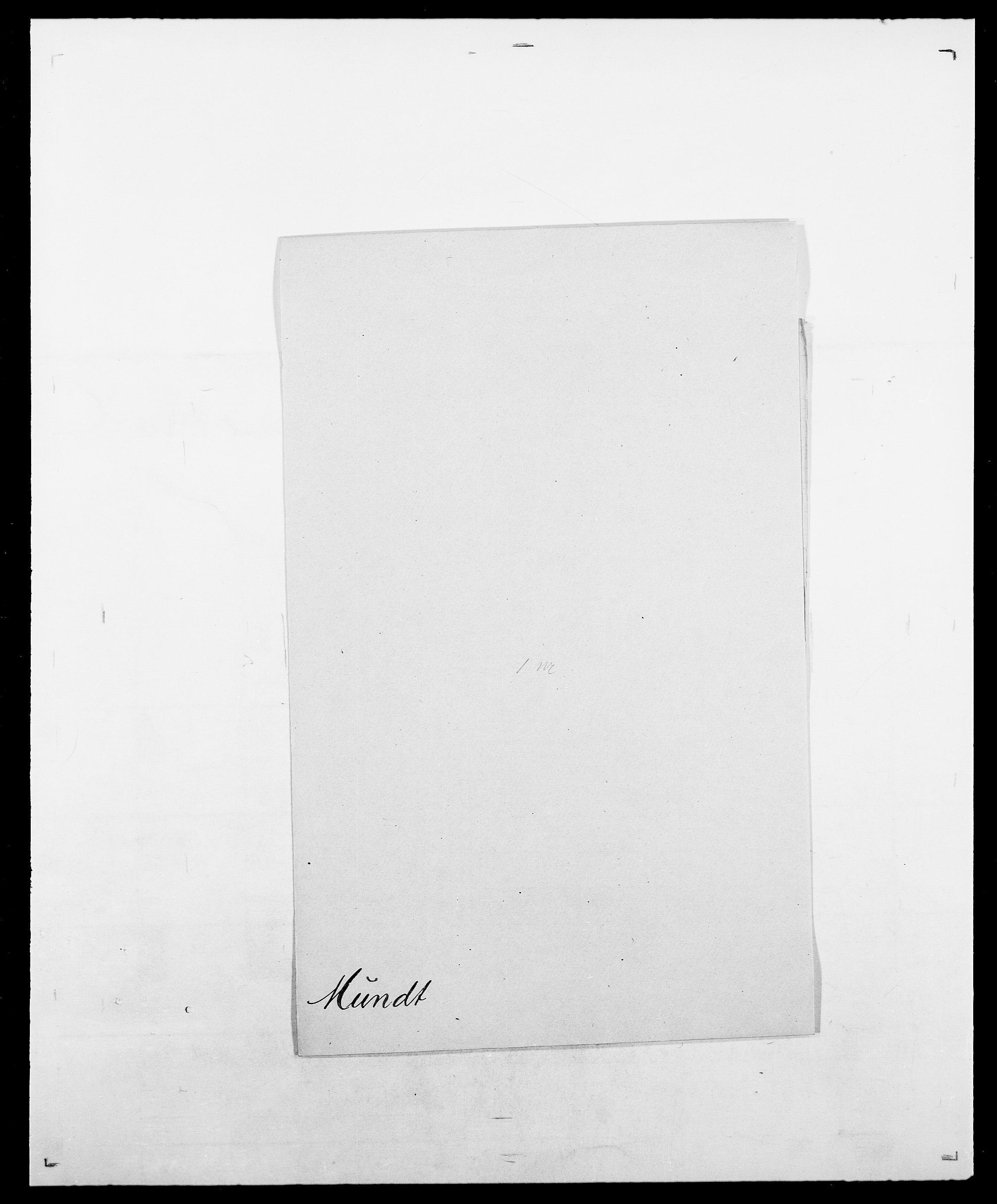 SAO, Delgobe, Charles Antoine - samling, D/Da/L0027: Morath - v. Møsting, s. 232
