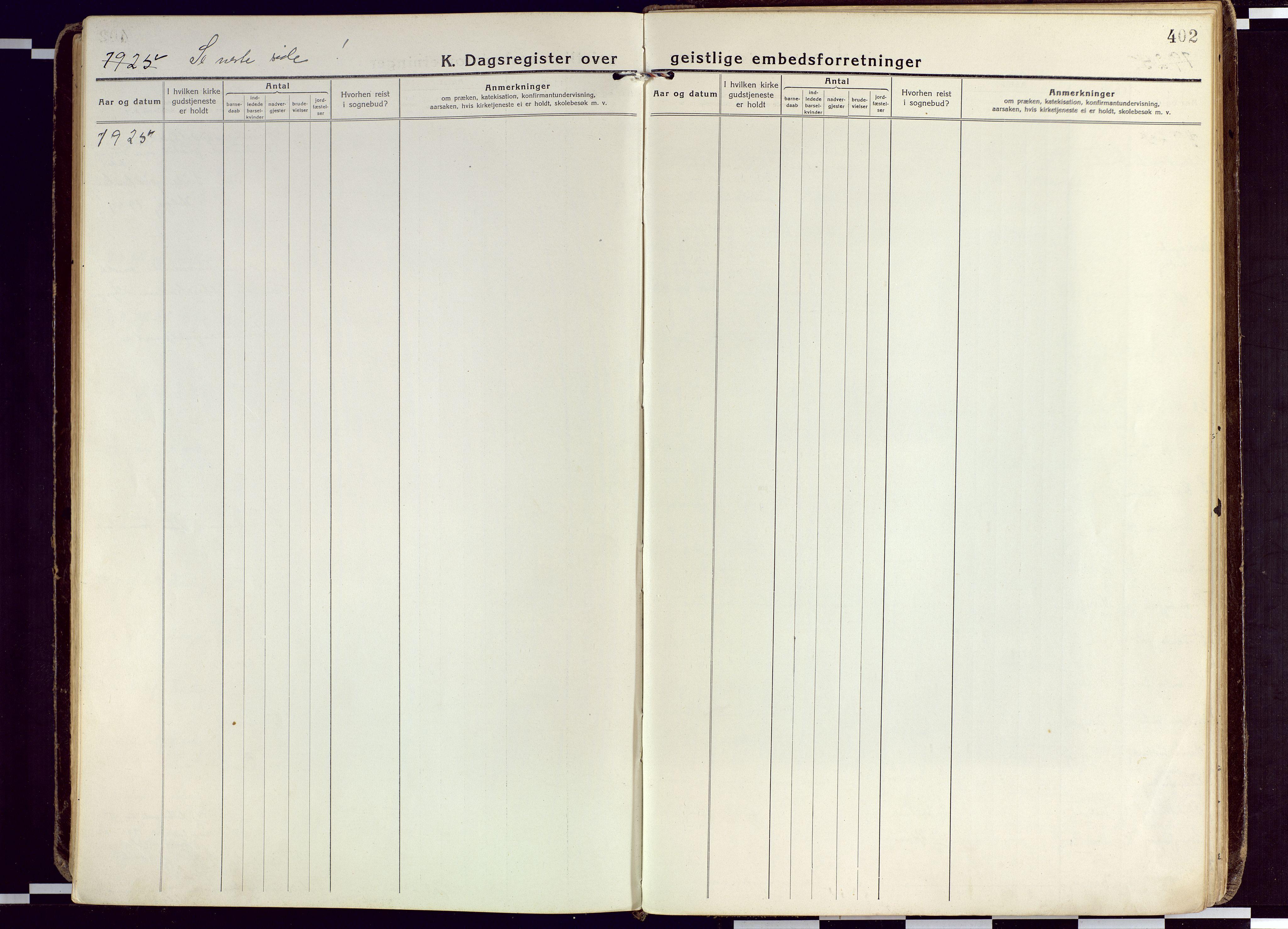 SATØ, Karlsøy sokneprestembete, Ministerialbok nr. 15, 1918-1929, s. 402