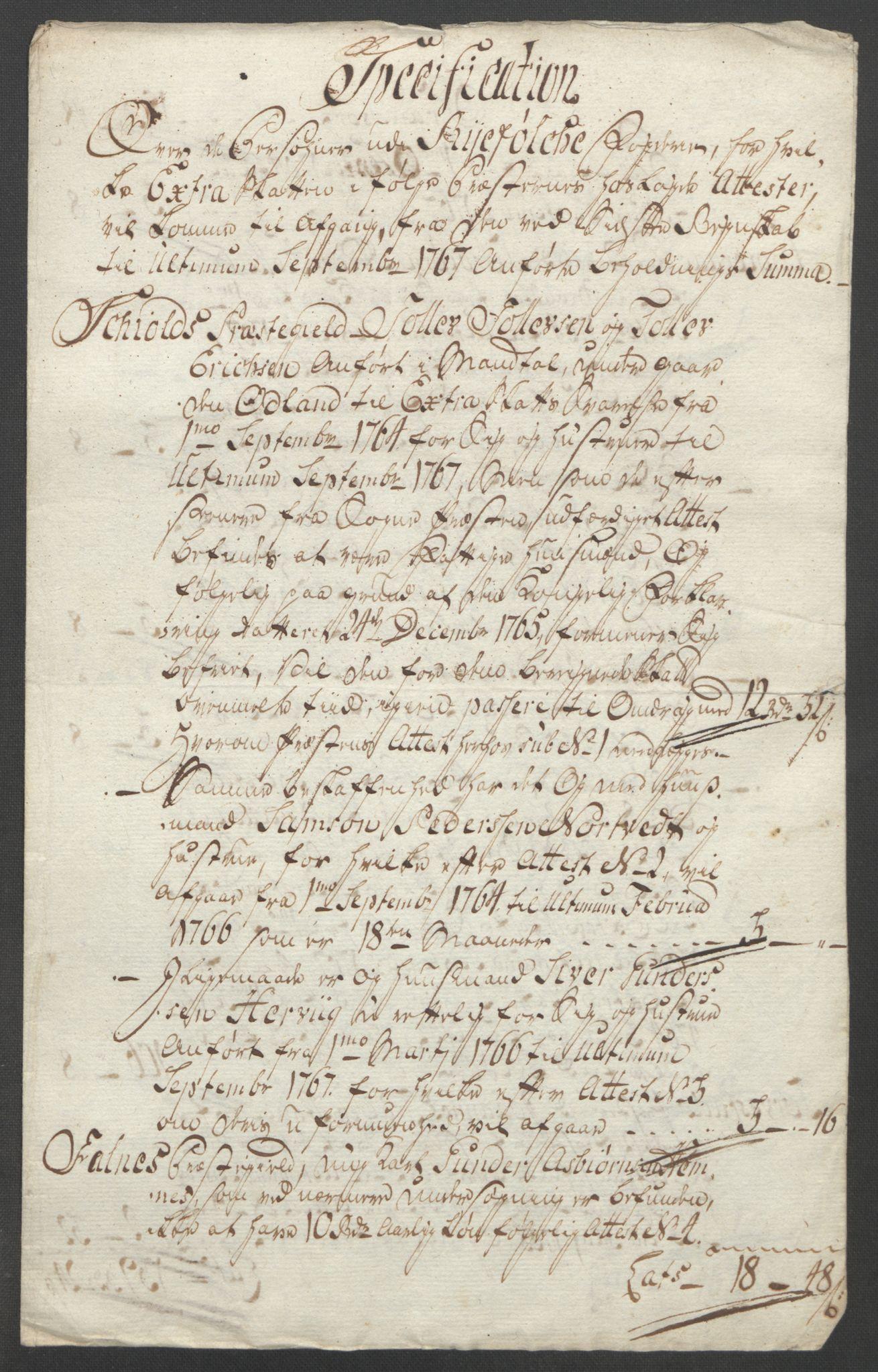RA, Rentekammeret inntil 1814, Reviderte regnskaper, Fogderegnskap, R47/L2972: Ekstraskatten Ryfylke, 1762-1780, s. 156