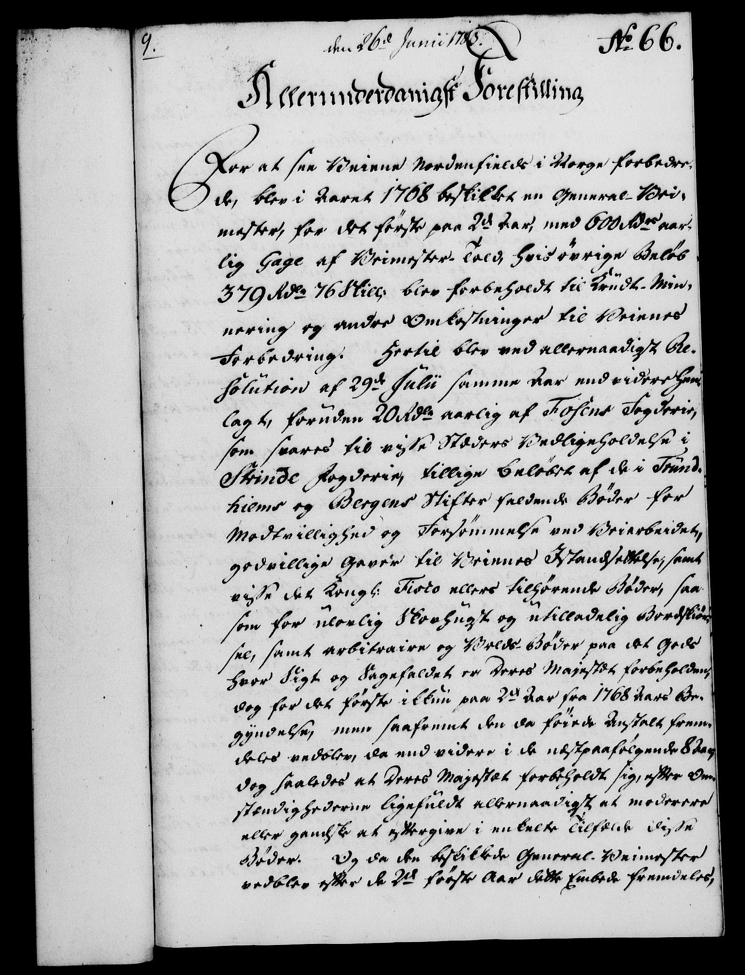 RA, Rentekammeret, Kammerkanselliet, G/Gf/Gfa/L0065: Norsk relasjons- og resolusjonsprotokoll (merket RK 52.65), 1783, s. 496