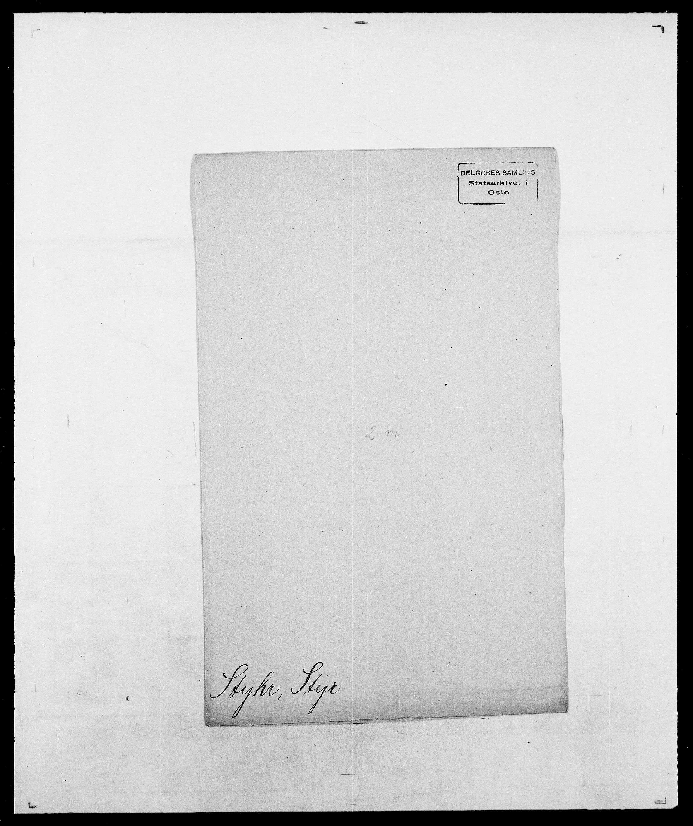 SAO, Delgobe, Charles Antoine - samling, D/Da/L0037: Steen, Sthen, Stein - Svare, Svanige, Svanne, se også Svanning og Schwane, s. 824