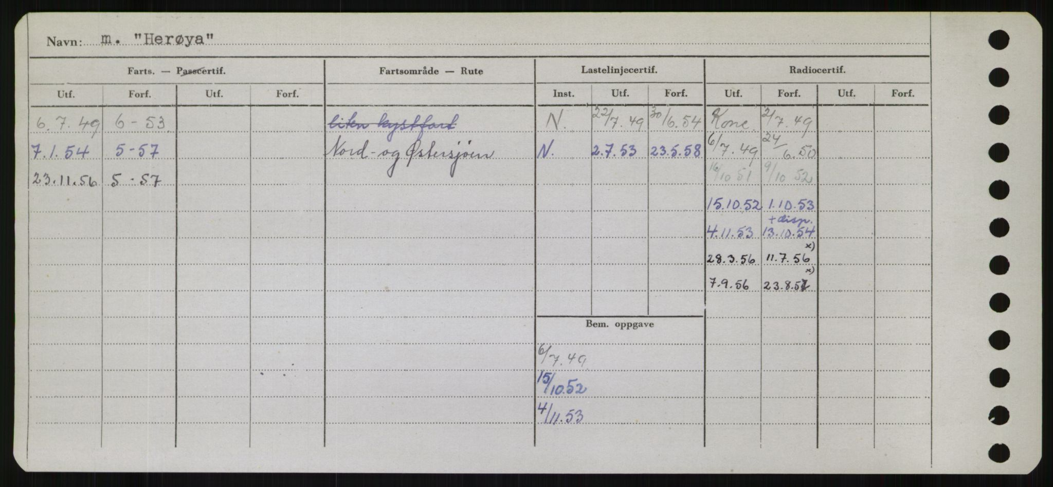 RA, Sjøfartsdirektoratet med forløpere, Skipsmålingen, H/Hb/L0002: Fartøy, E-H, s. 390
