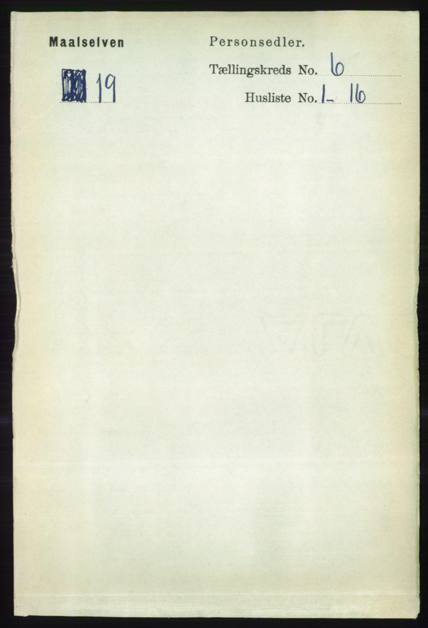 RA, Folketelling 1891 for 1924 Målselv herred, 1891, s. 2033