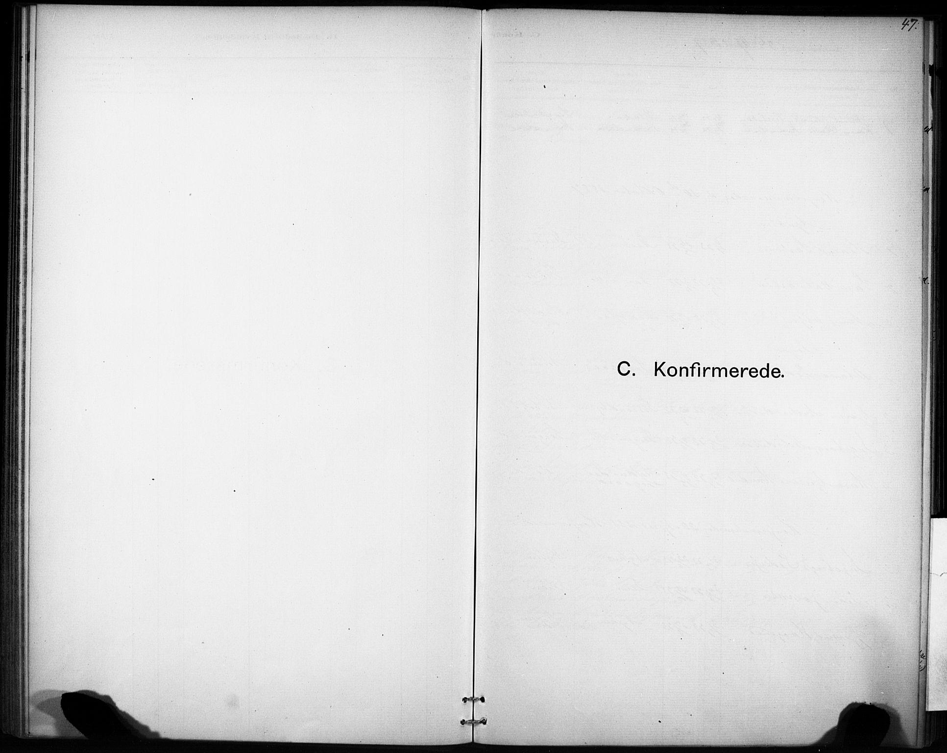 SAT, Ministerialprotokoller, klokkerbøker og fødselsregistre - Sør-Trøndelag, 693/L1119: Ministerialbok nr. 693A01, 1887-1905, s. 47