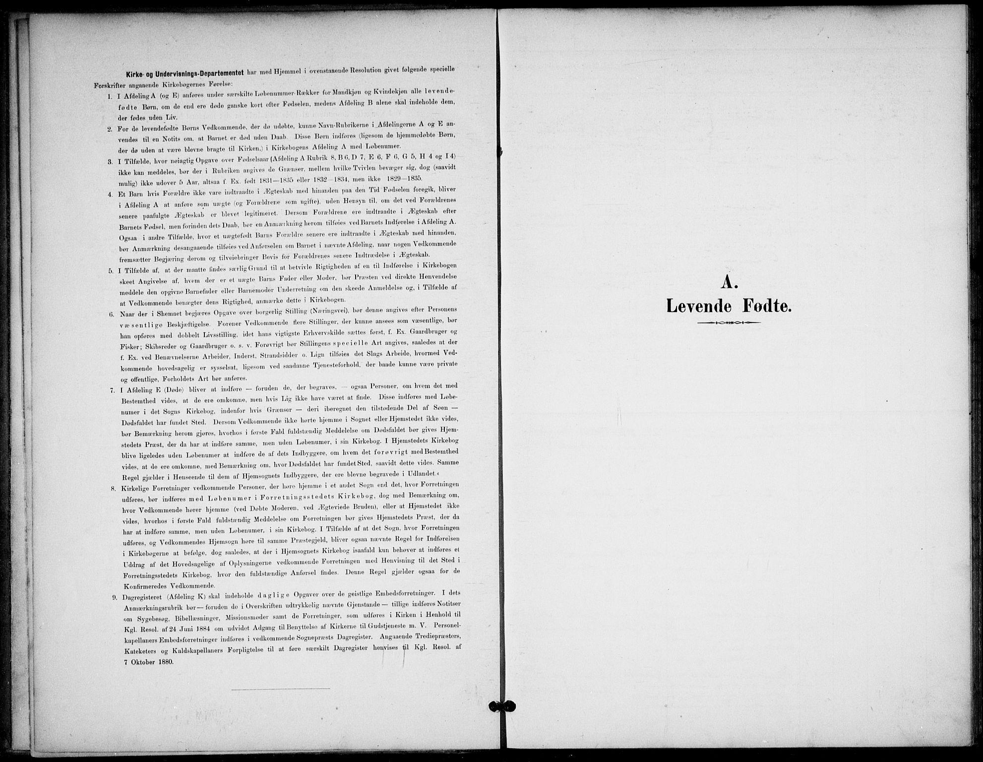 SAKO, Lunde kirkebøker, F/Fb/L0004: Ministerialbok nr. II 4, 1892-1907