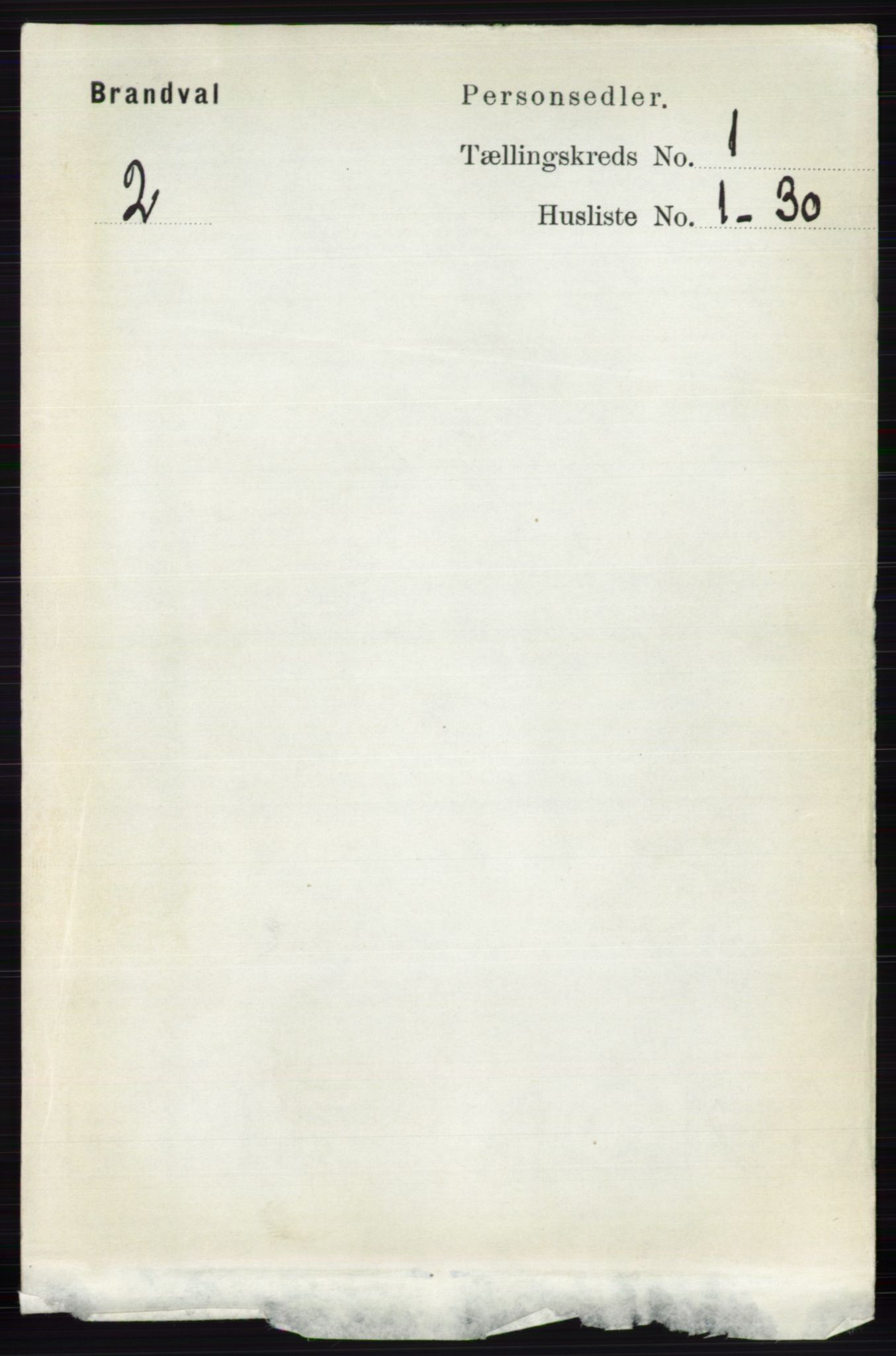 RA, Folketelling 1891 for 0422 Brandval herred, 1891, s. 111
