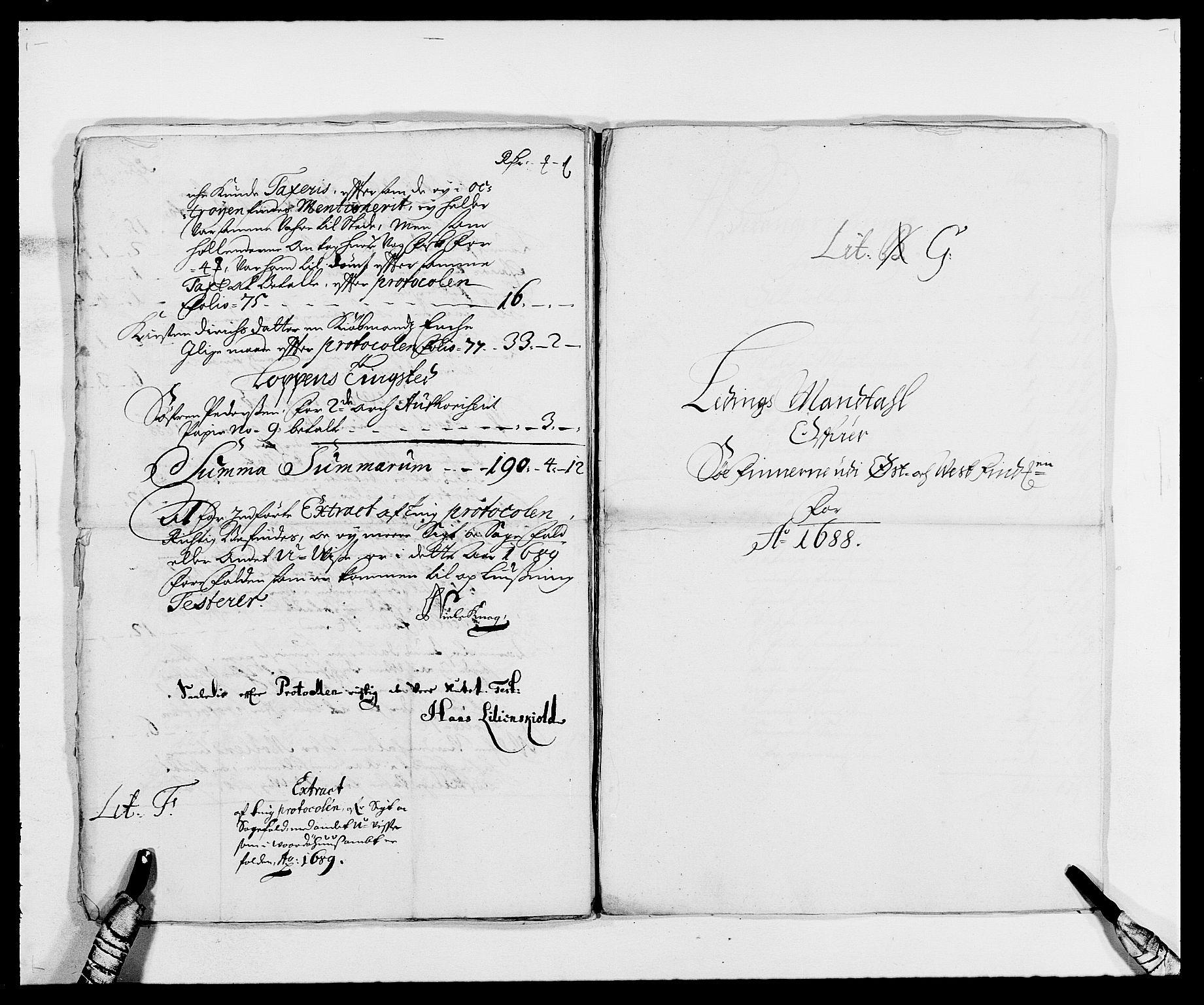 RA, Rentekammeret inntil 1814, Reviderte regnskaper, Fogderegnskap, R69/L4850: Fogderegnskap Finnmark/Vardøhus, 1680-1690, s. 181