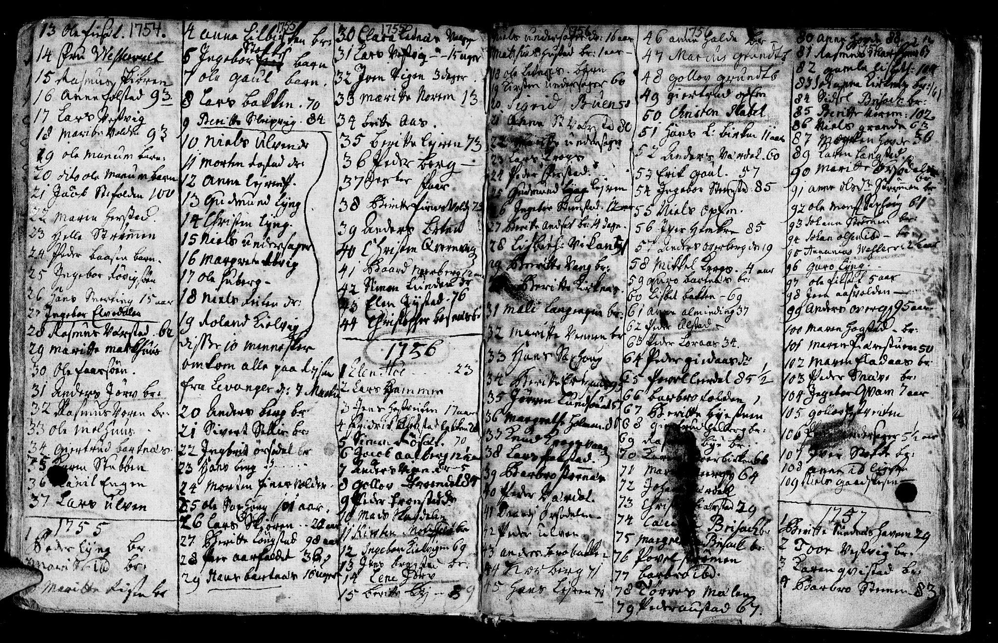 SAT, Ministerialprotokoller, klokkerbøker og fødselsregistre - Nord-Trøndelag, 730/L0272: Ministerialbok nr. 730A01, 1733-1764, s. 161