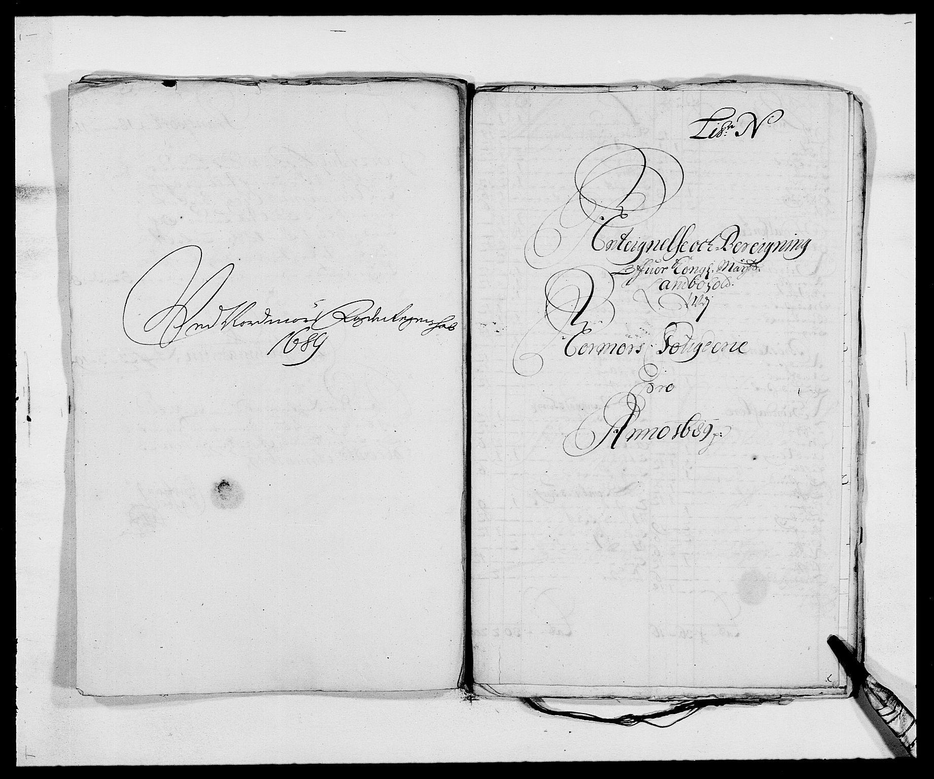 RA, Rentekammeret inntil 1814, Reviderte regnskaper, Fogderegnskap, R56/L3733: Fogderegnskap Nordmøre, 1687-1689, s. 452