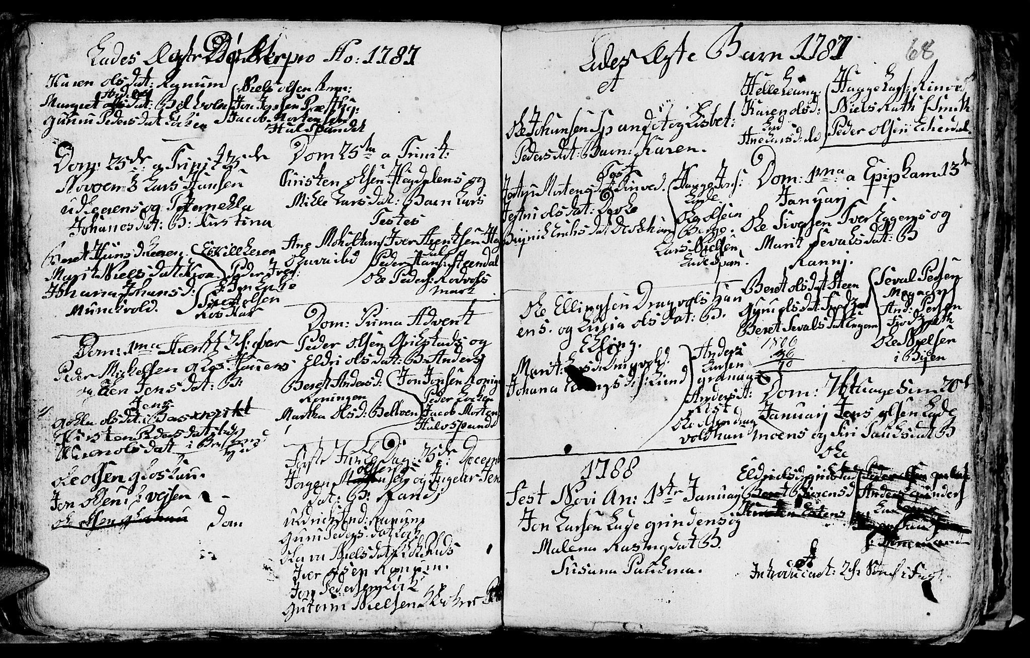 SAT, Ministerialprotokoller, klokkerbøker og fødselsregistre - Sør-Trøndelag, 606/L0305: Klokkerbok nr. 606C01, 1757-1819, s. 68