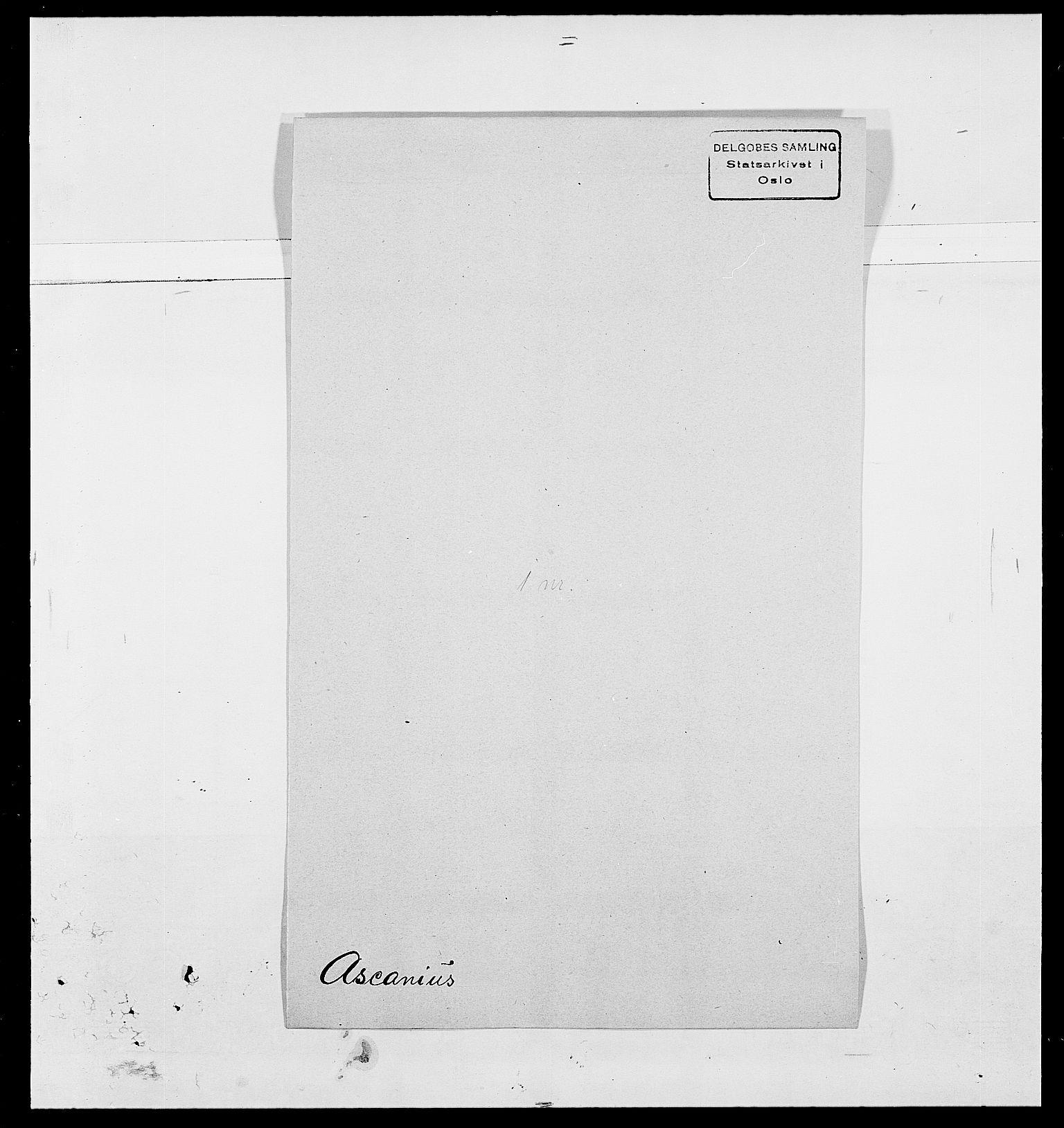 SAO, Delgobe, Charles Antoine - samling, D/Da/L0002: Anker, Ancher - Bauner, s. 398