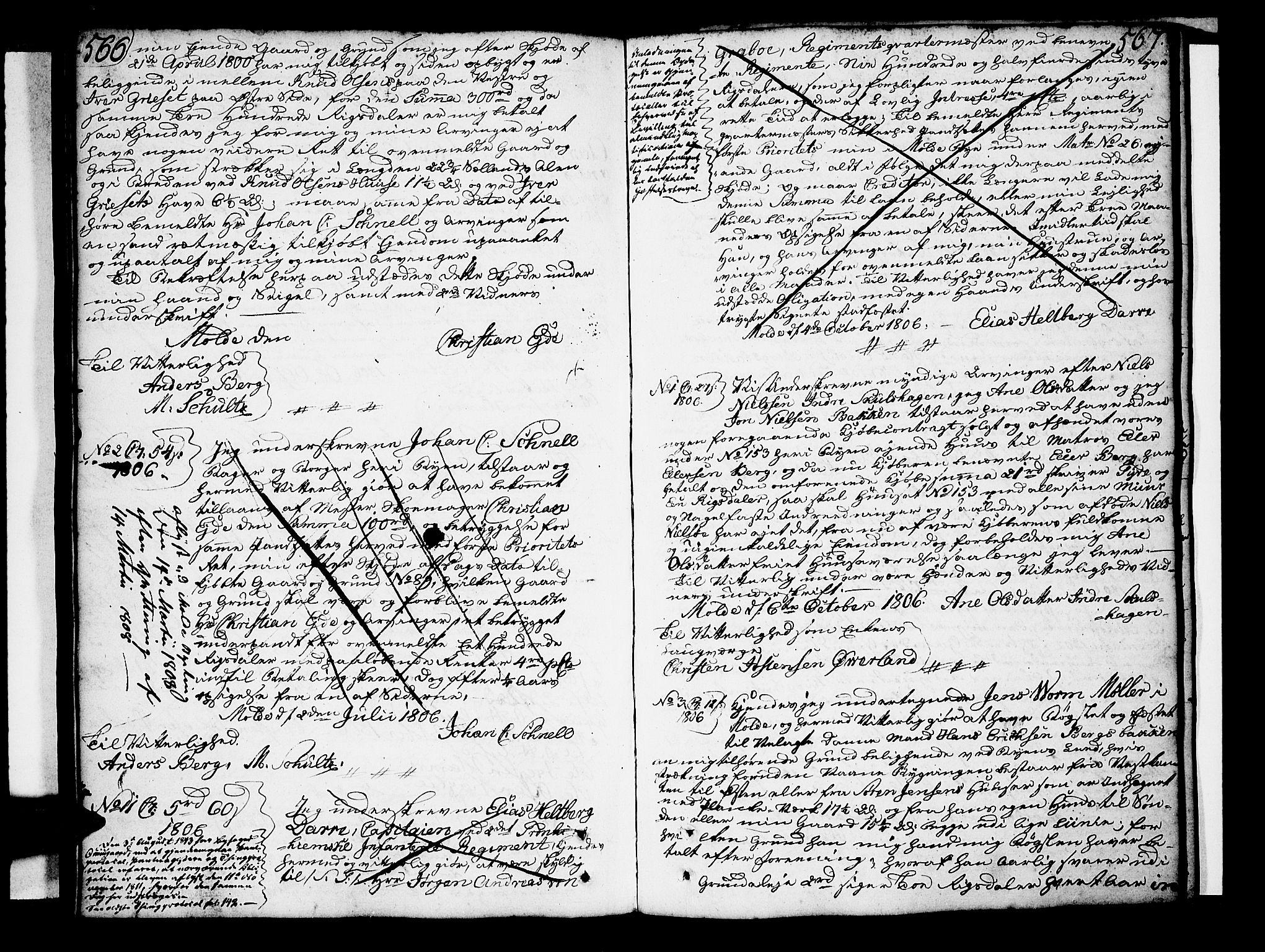 SAT, Molde byfogd, 2/2C/L0001: Pantebok nr. 1, 1748-1823, s. 566-567