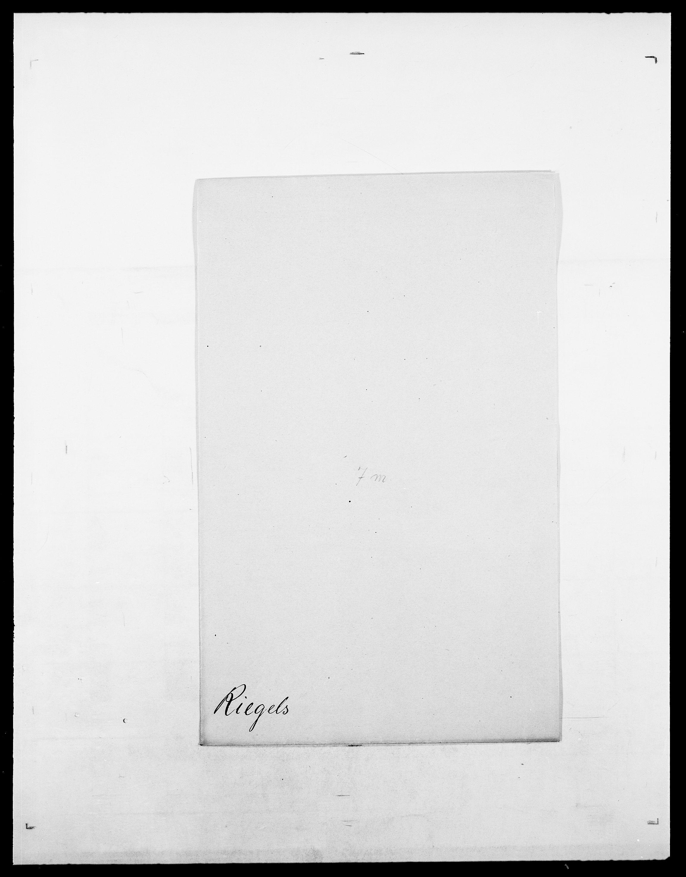 SAO, Delgobe, Charles Antoine - samling, D/Da/L0032: Rabakovsky - Rivertz, s. 585