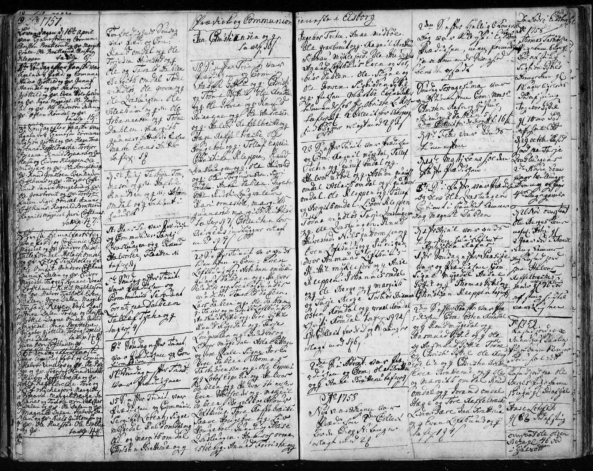 SAKO, Lårdal kirkebøker, F/Fa/L0003: Ministerialbok nr. I 3, 1754-1790, s. 68
