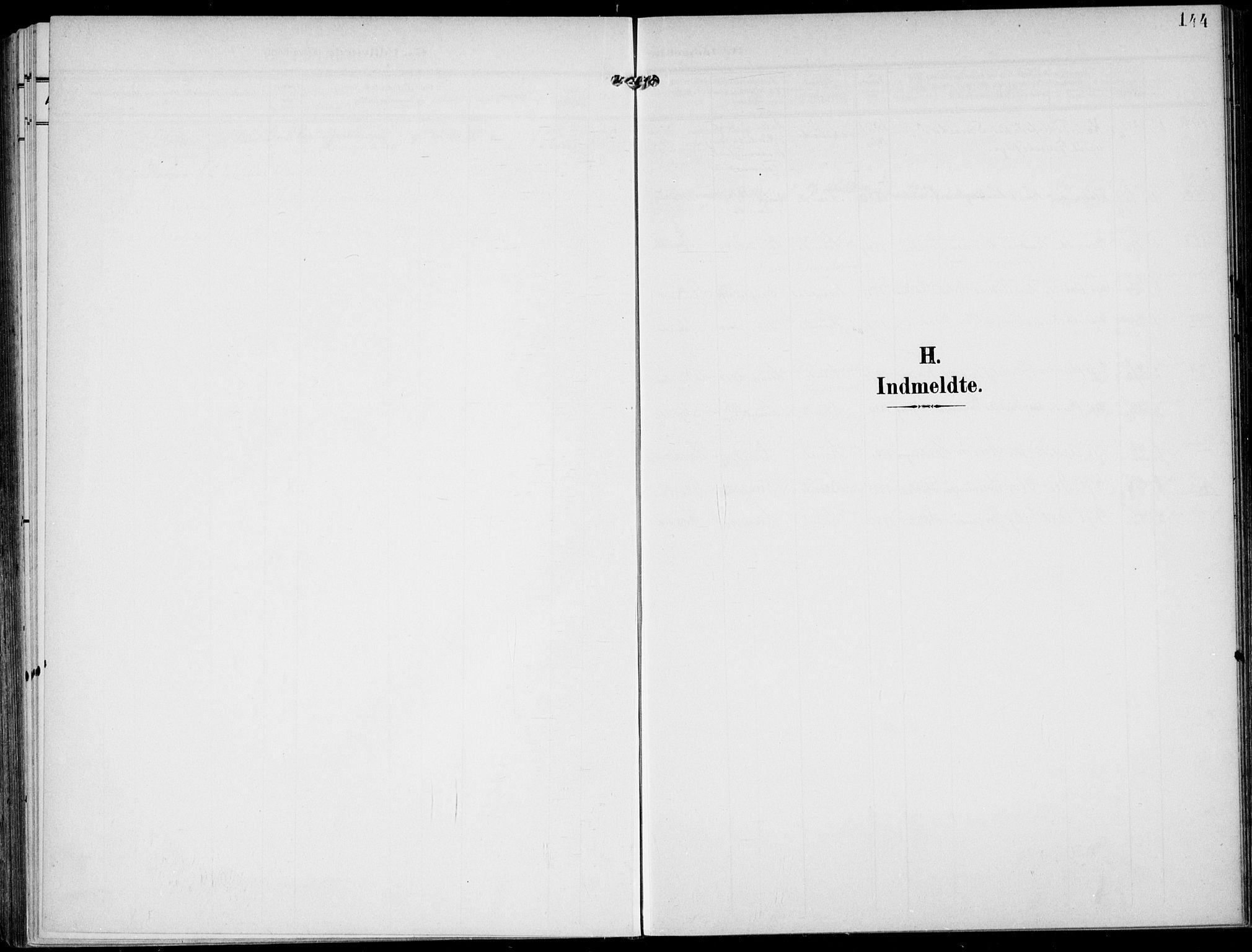 SAKO, Lunde kirkebøker, F/Fa/L0004: Ministerialbok nr. I 4, 1902-1913, s. 144
