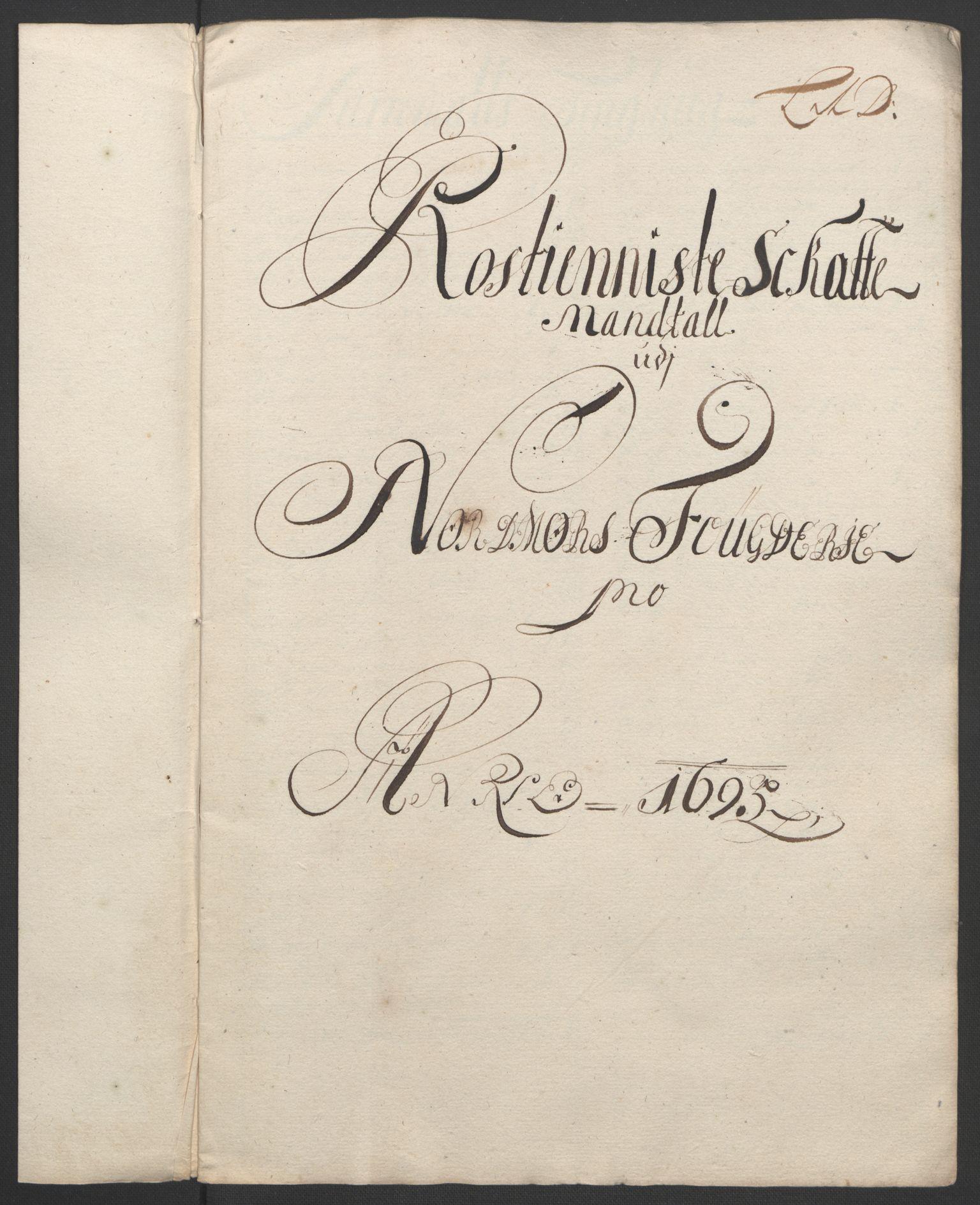 RA, Rentekammeret inntil 1814, Reviderte regnskaper, Fogderegnskap, R56/L3736: Fogderegnskap Nordmøre, 1694-1696, s. 262