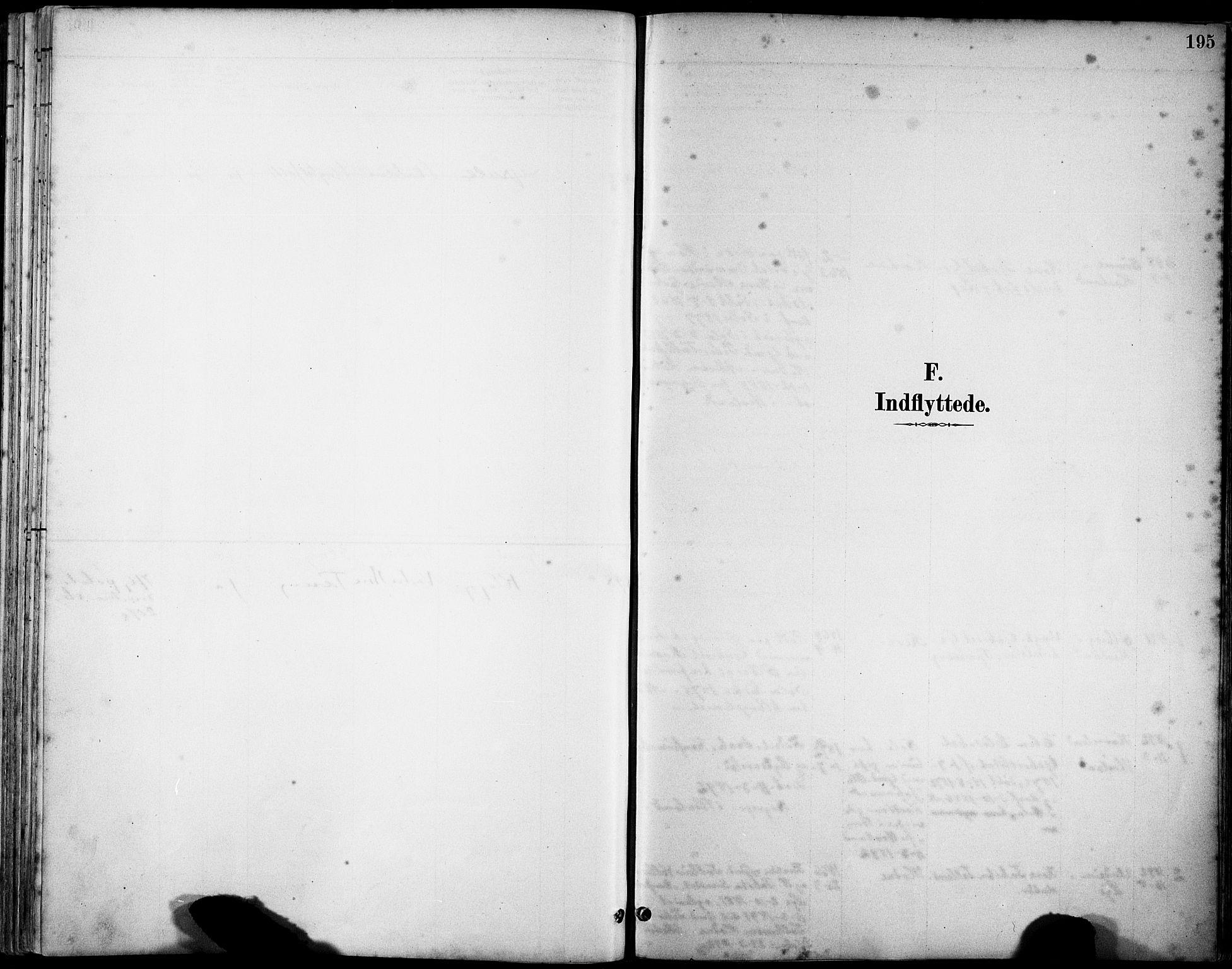 SAST, Klepp sokneprestkontor, 30BA/L0008: Ministerialbok nr. A 9, 1886-1919, s. 195