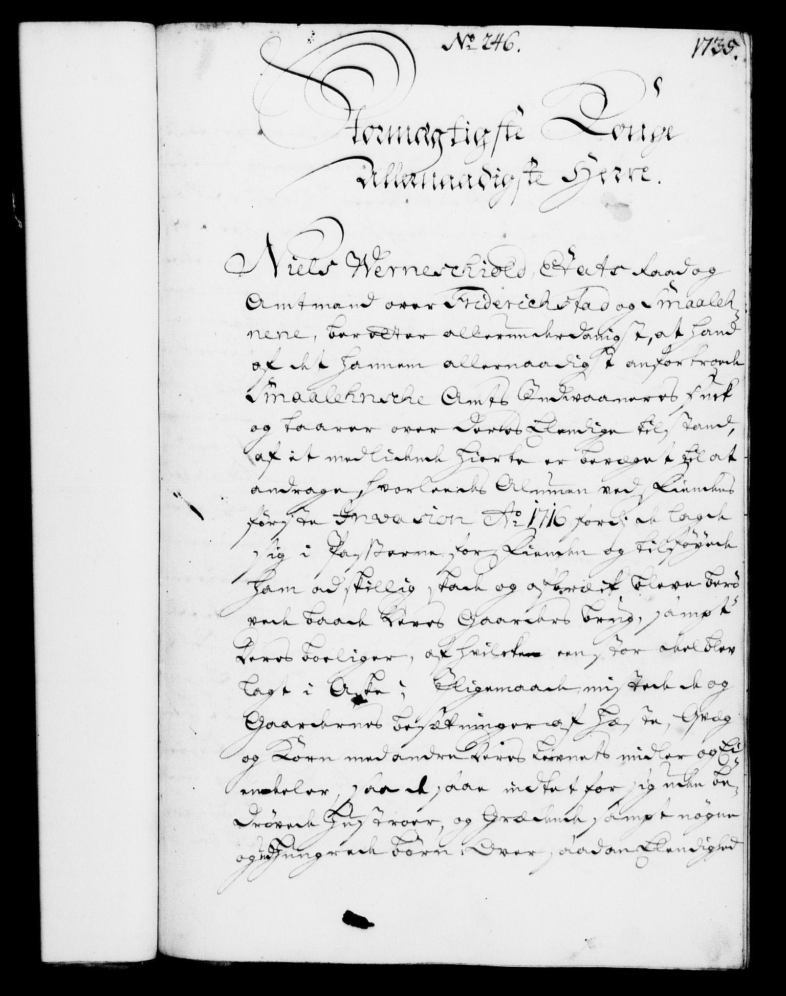 RA, Rentekammeret, Kammerkanselliet, G/Gf/Gfa/L0003: Norsk relasjons- og resolusjonsprotokoll (merket RK 52.3), 1720, s. 715
