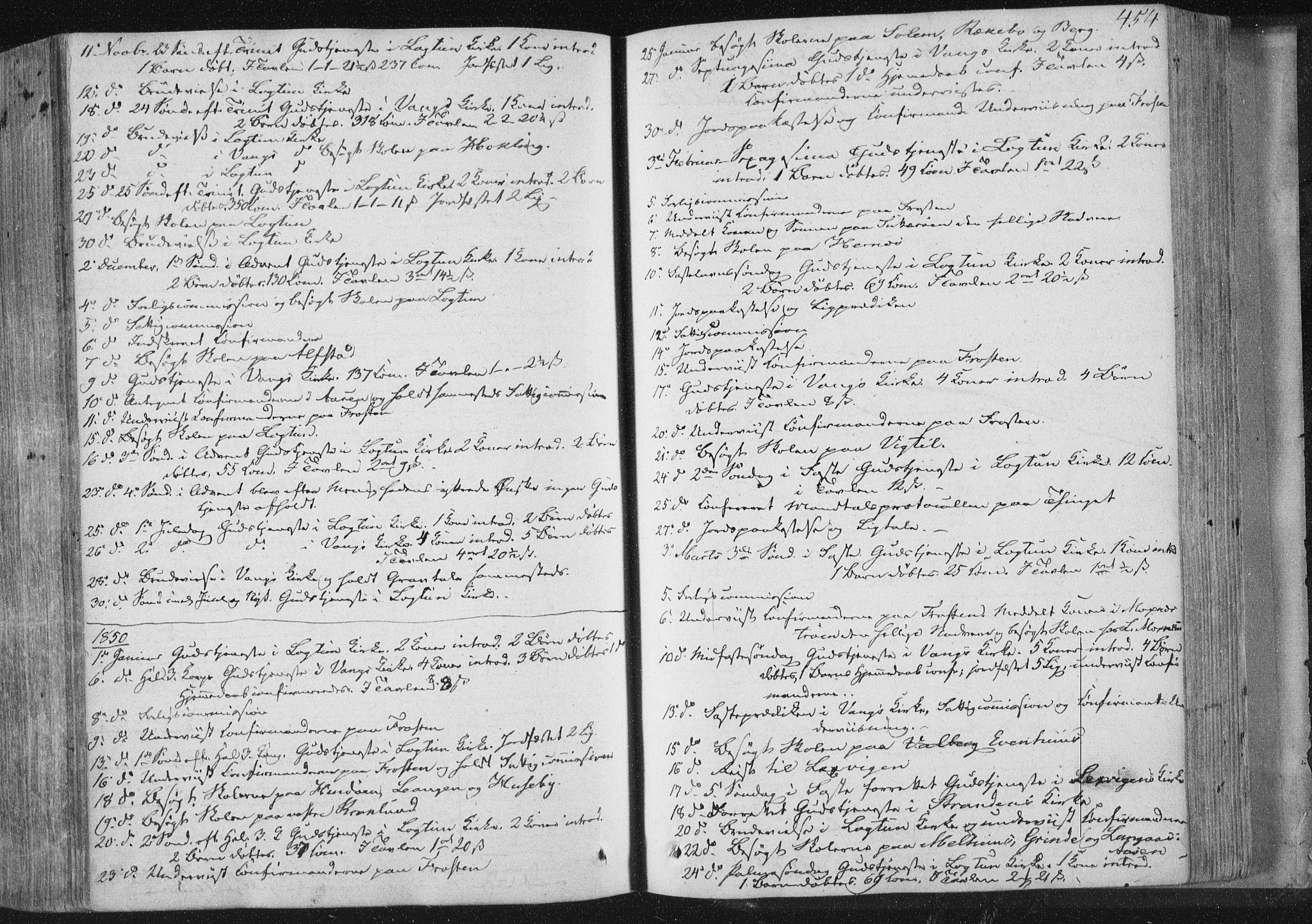 SAT, Ministerialprotokoller, klokkerbøker og fødselsregistre - Nord-Trøndelag, 713/L0115: Ministerialbok nr. 713A06, 1838-1851, s. 454