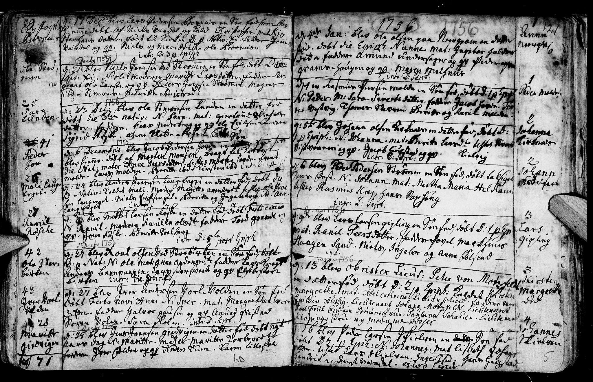 SAT, Ministerialprotokoller, klokkerbøker og fødselsregistre - Nord-Trøndelag, 730/L0272: Ministerialbok nr. 730A01, 1733-1764, s. 121