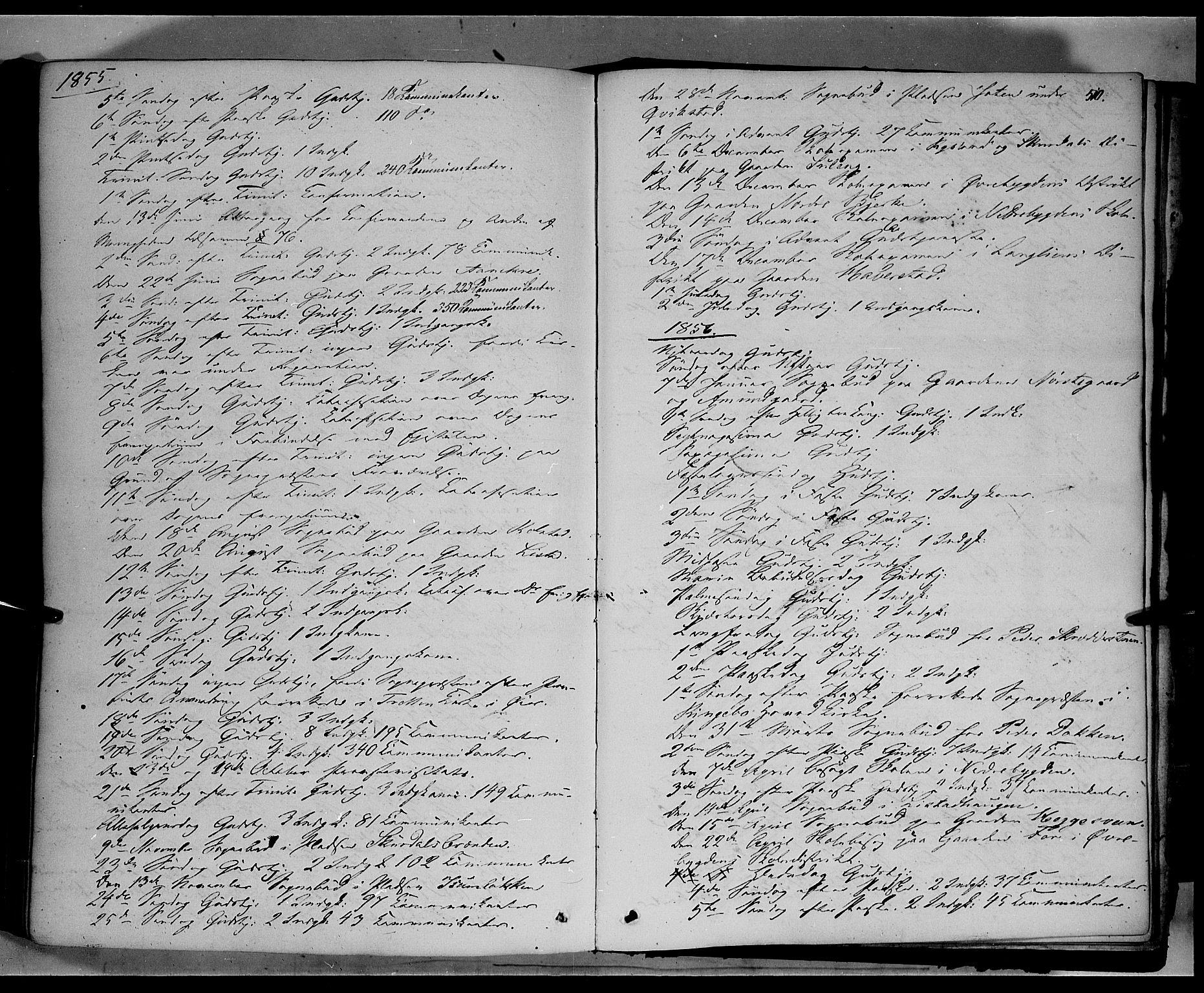 SAH, Sør-Fron prestekontor, H/Ha/Haa/L0001: Ministerialbok nr. 1, 1849-1863, s. 510
