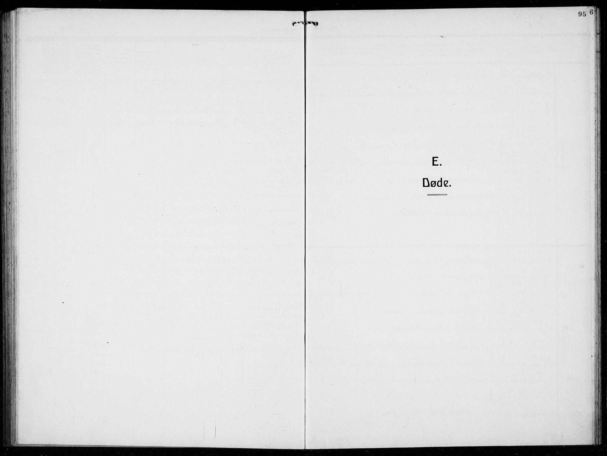 SAB, Austevoll Sokneprestembete, H/Hab: Klokkerbok nr. A  6, 1925-1938, s. 95