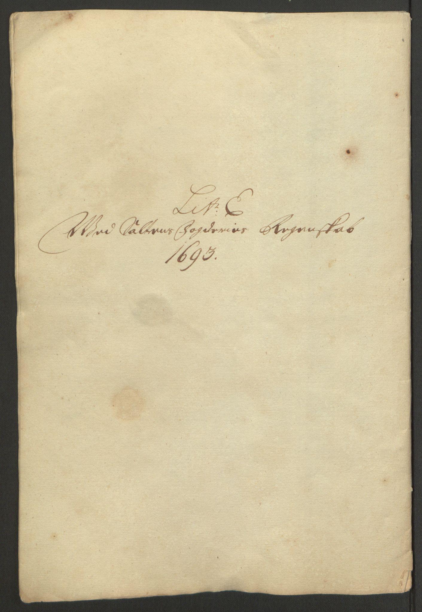 RA, Rentekammeret inntil 1814, Reviderte regnskaper, Fogderegnskap, R66/L4577: Fogderegnskap Salten, 1691-1693, s. 329