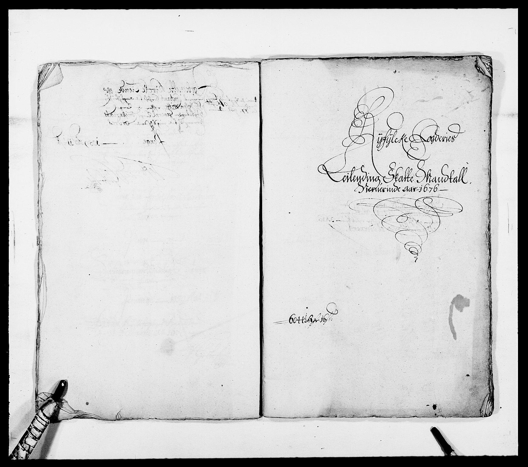 RA, Rentekammeret inntil 1814, Reviderte regnskaper, Fogderegnskap, R47/L2846: Fogderegnskap Ryfylke, 1676, s. 172