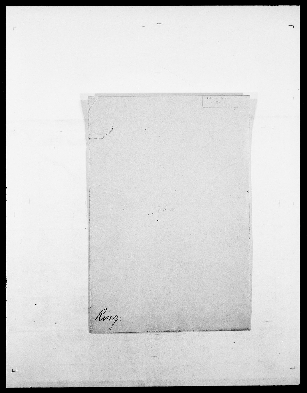 SAO, Delgobe, Charles Antoine - samling, D/Da/L0032: Rabakovsky - Rivertz, s. 672