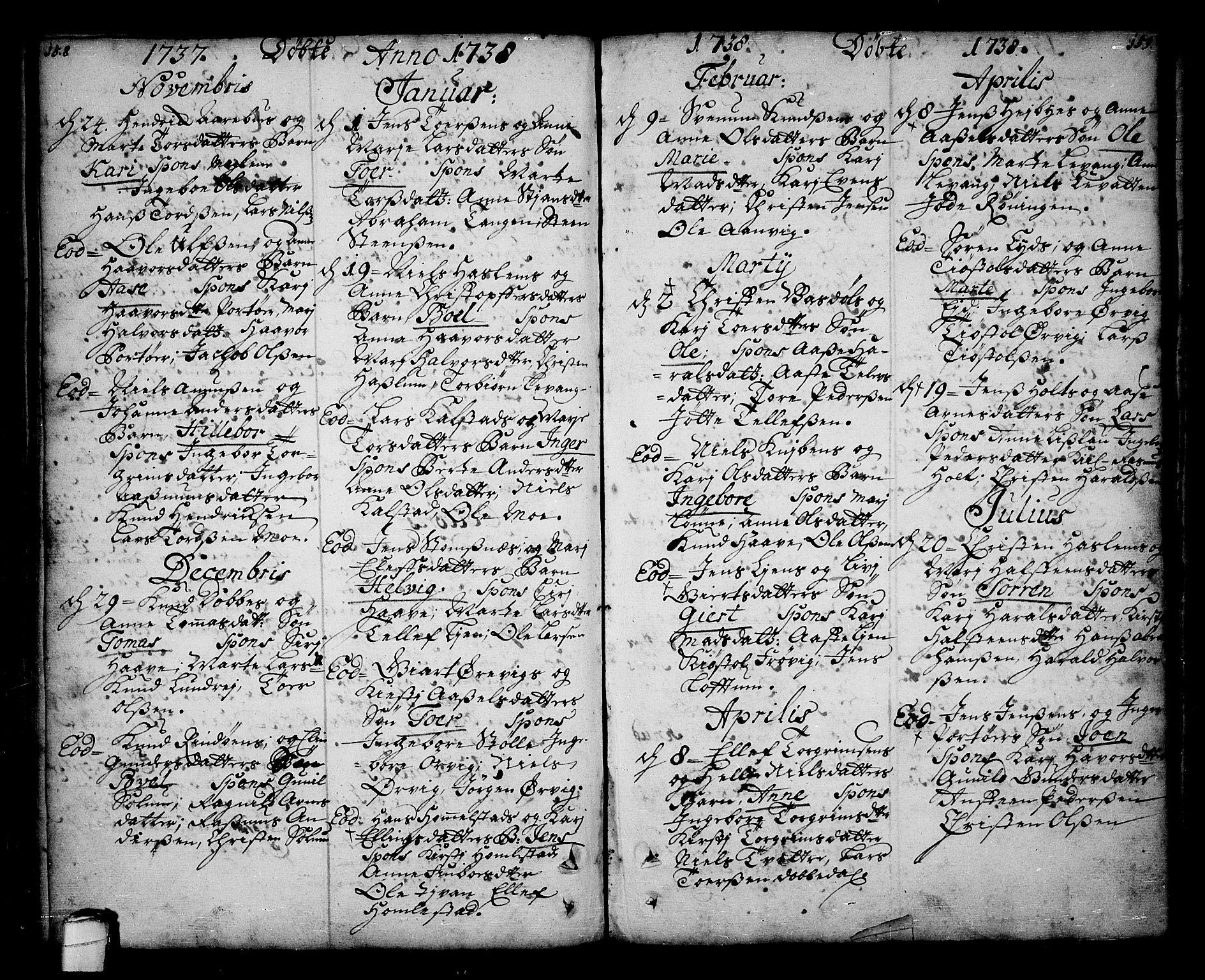 SAKO, Sannidal kirkebøker, F/Fa/L0001: Ministerialbok nr. 1, 1702-1766, s. 158-159