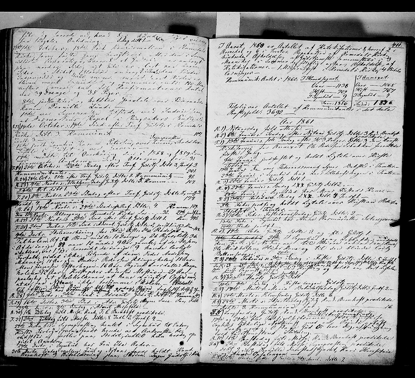 SAH, Romedal prestekontor, K/L0004: Ministerialbok nr. 4, 1847-1861, s. 411