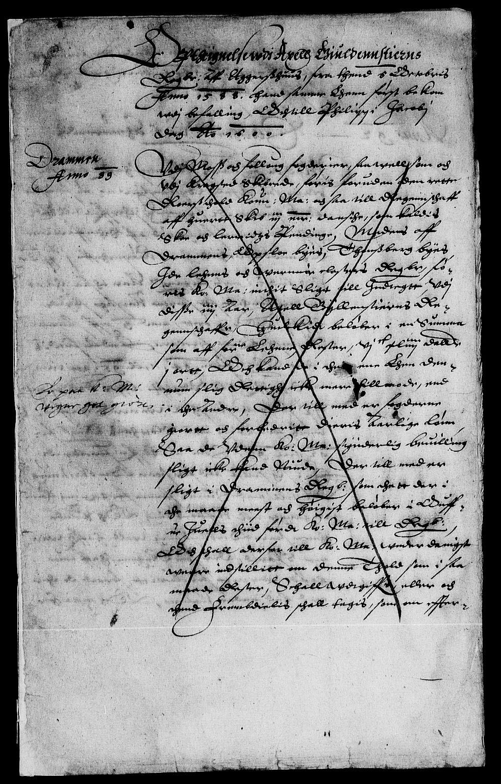 RA, Rentekammeret inntil 1814, Reviderte regnskaper, Lensregnskaper, R/Rb/Rba/L0010: Akershus len, 1588-1601