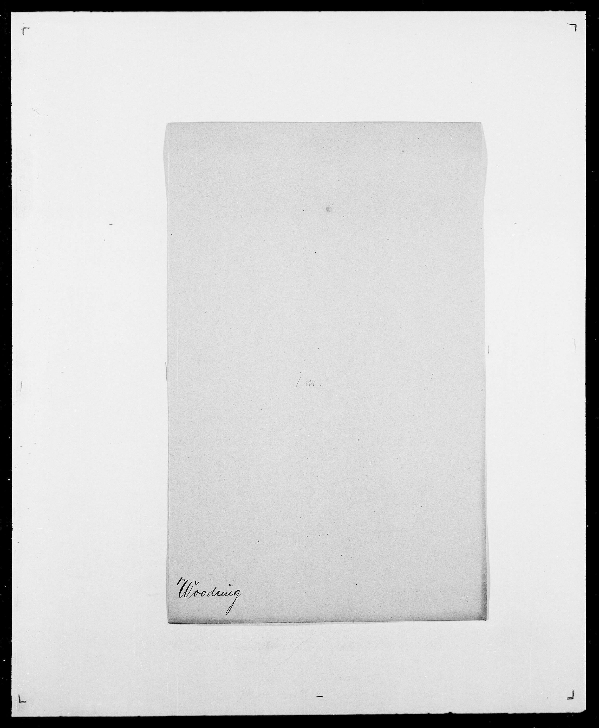SAO, Delgobe, Charles Antoine - samling, D/Da/L0042: Vilain - Wulf, Wulff, se også Wolf, s. 675
