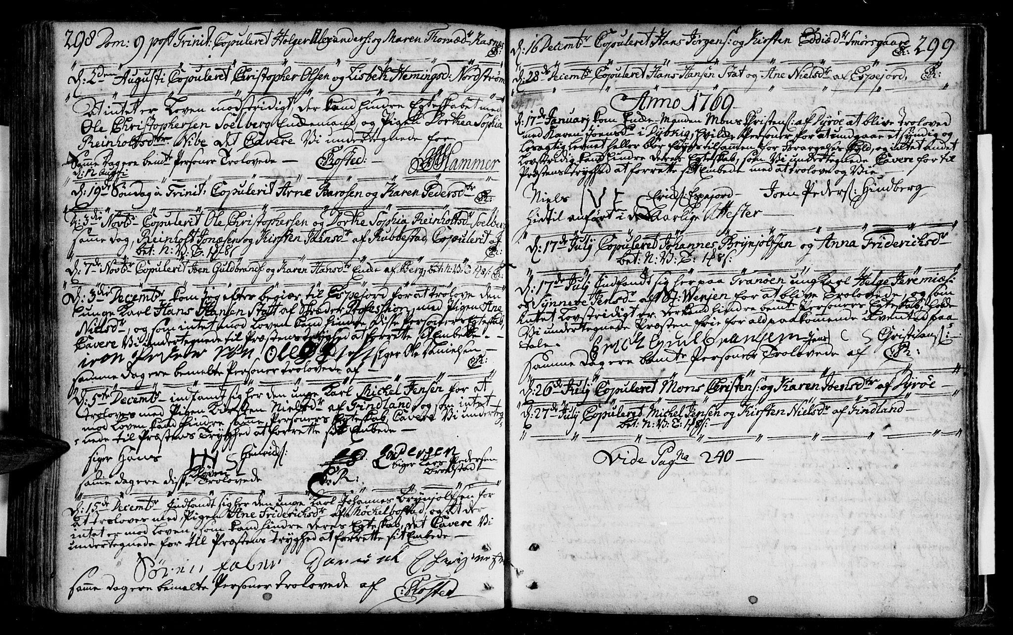SATØ, Tranøy sokneprestkontor, I/Ia/Iaa/L0001kirke: Ministerialbok nr. 1, 1757-1773, s. 298-299
