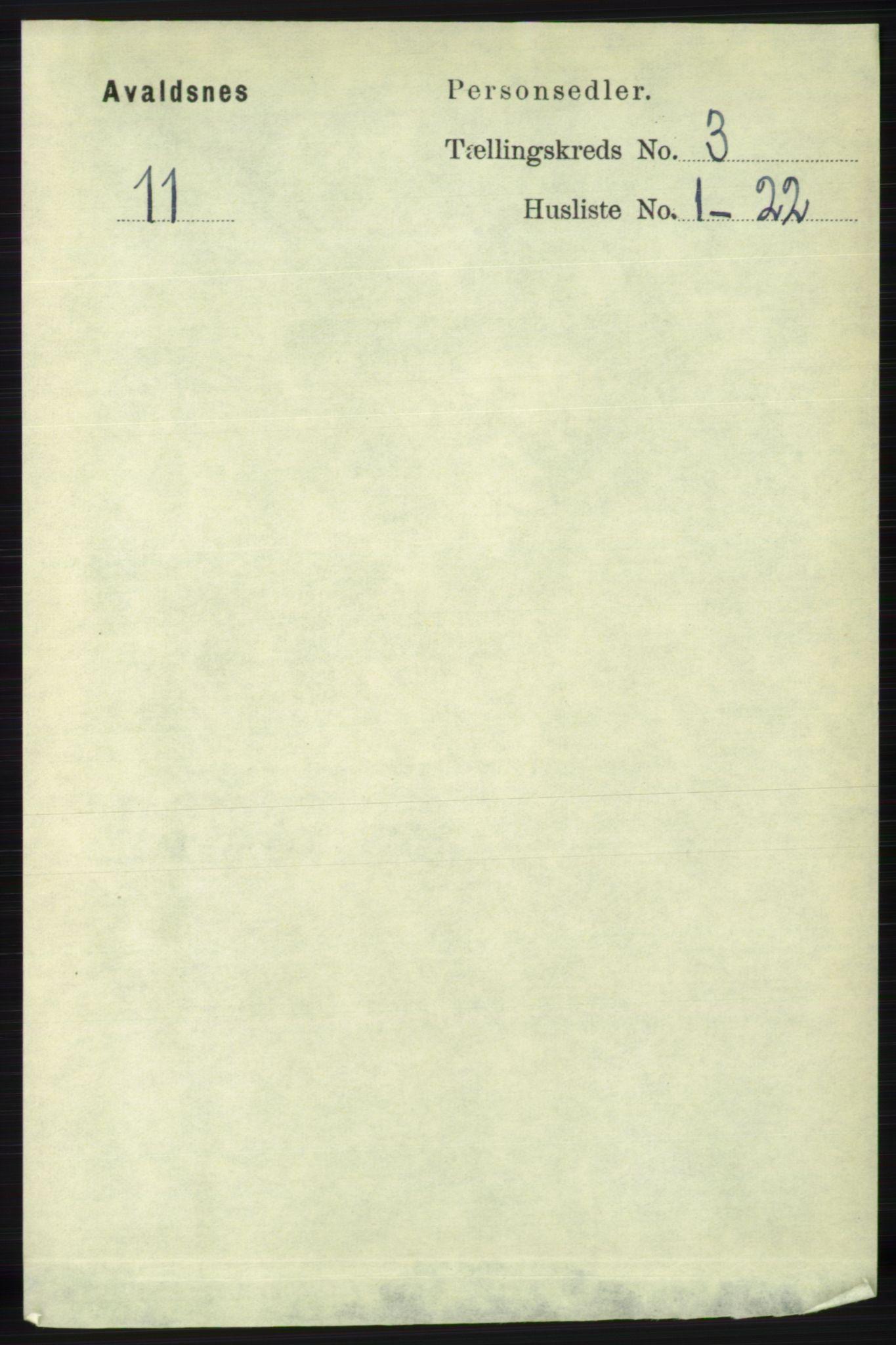 RA, Folketelling 1891 for 1147 Avaldsnes herred, 1891, s. 2544