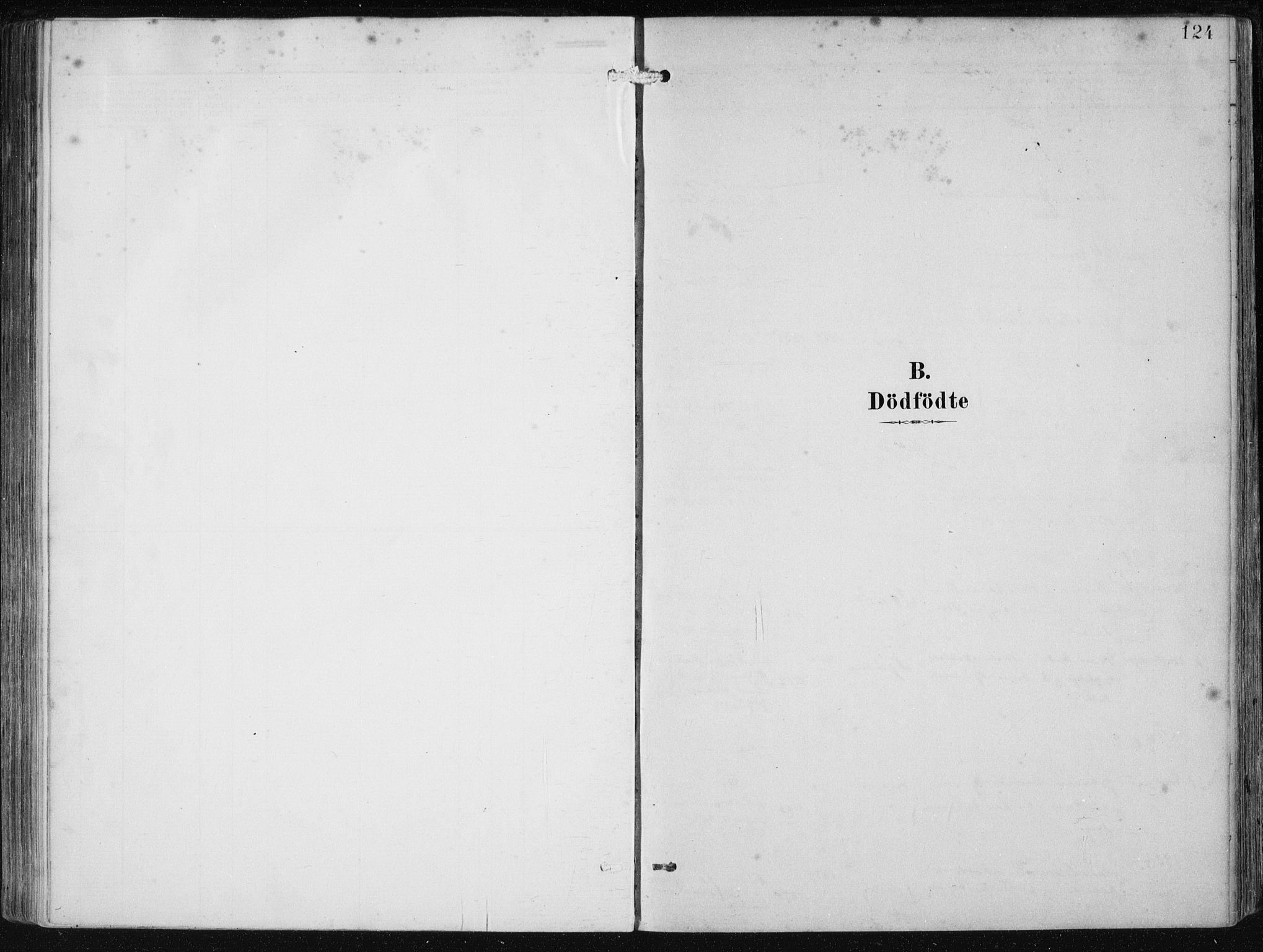 SAB, Etne Sokneprestembete, H/Haa: Ministerialbok nr. B  1, 1879-1919, s. 124