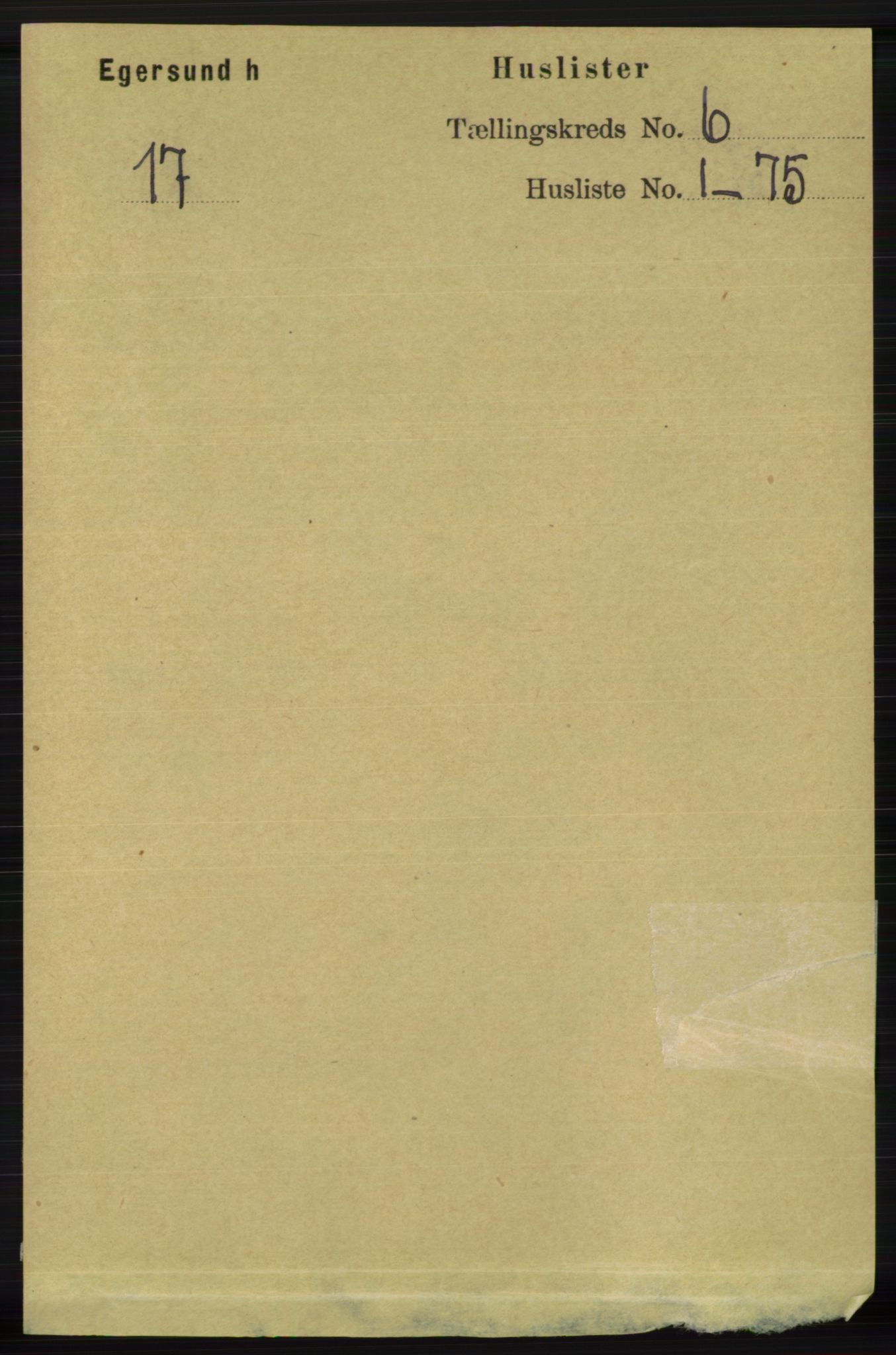 RA, Folketelling 1891 for 1116 Eigersund herred, 1891, s. 2193
