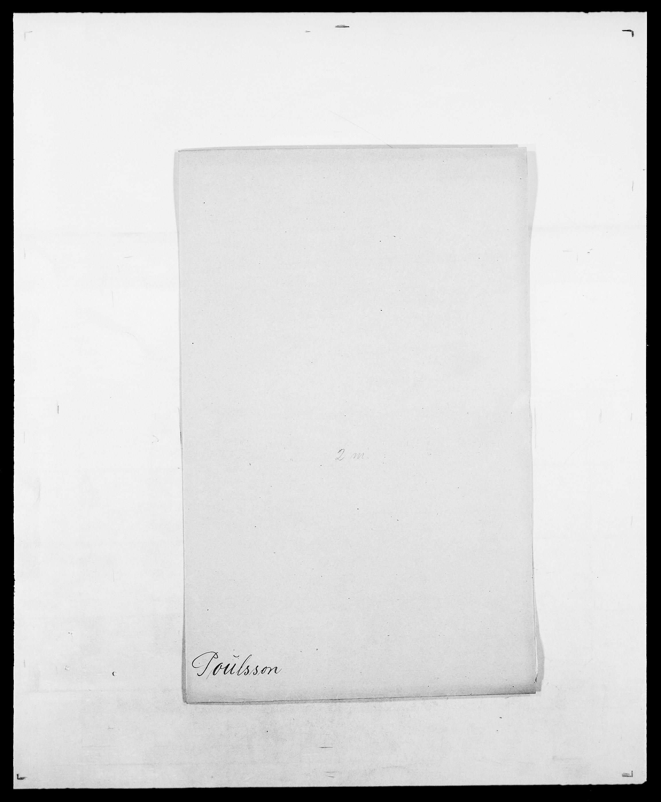 SAO, Delgobe, Charles Antoine - samling, D/Da/L0031: de Place - Raaum, s. 268
