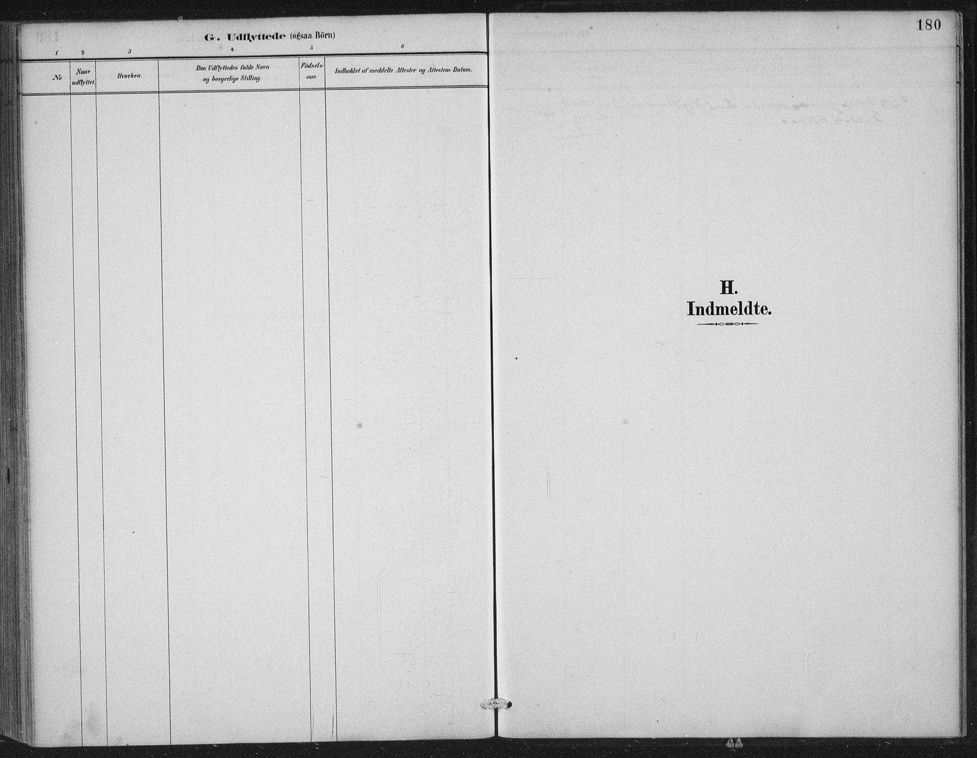 SAST, Vikedal sokneprestkontor, IV: Ministerialbok nr. A 11, 1884-1933, s. 180