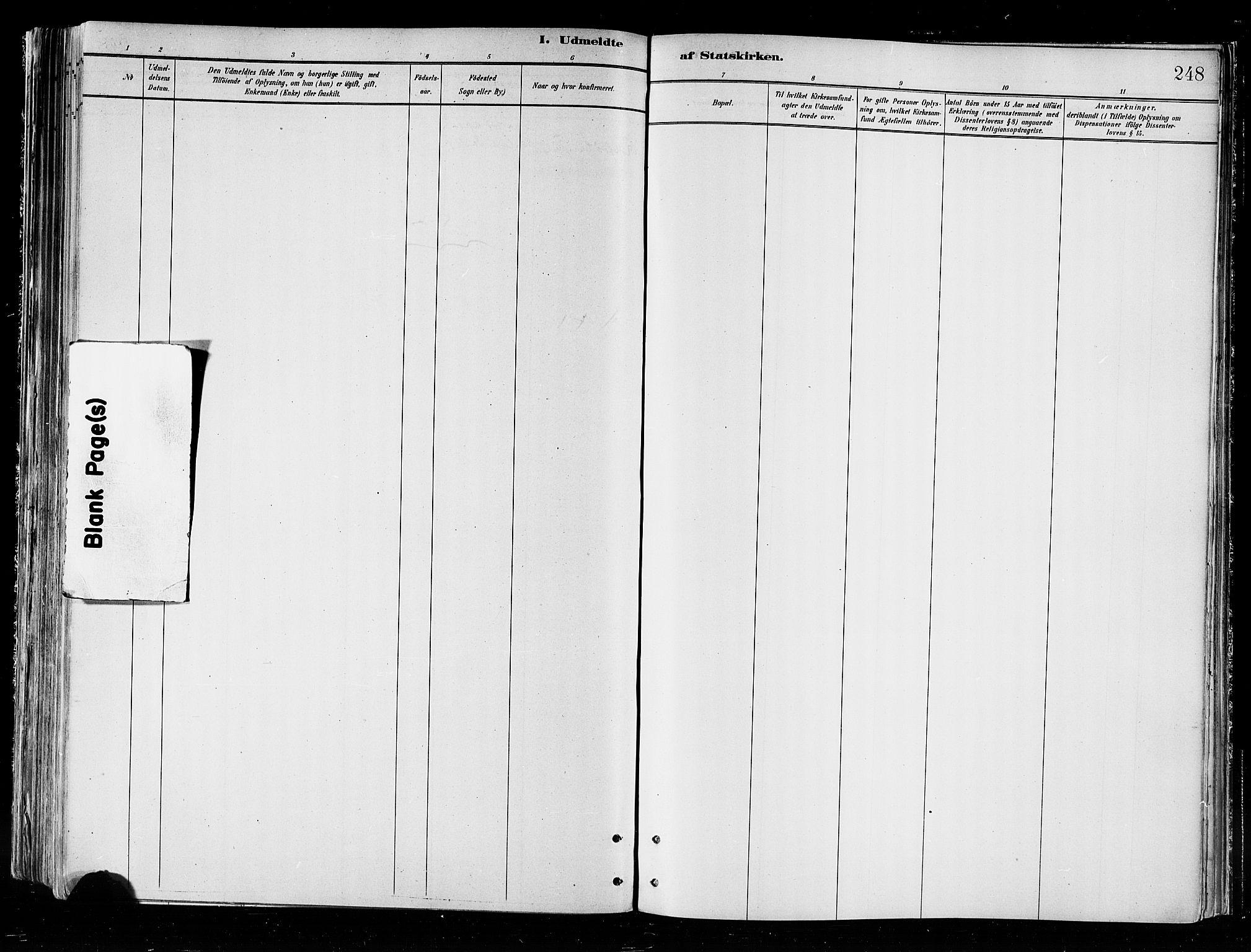 SATØ, Skjervøy sokneprestkontor, H/Ha/Haa/L0010kirke: Ministerialbok nr. 10, 1887-1898, s. 248