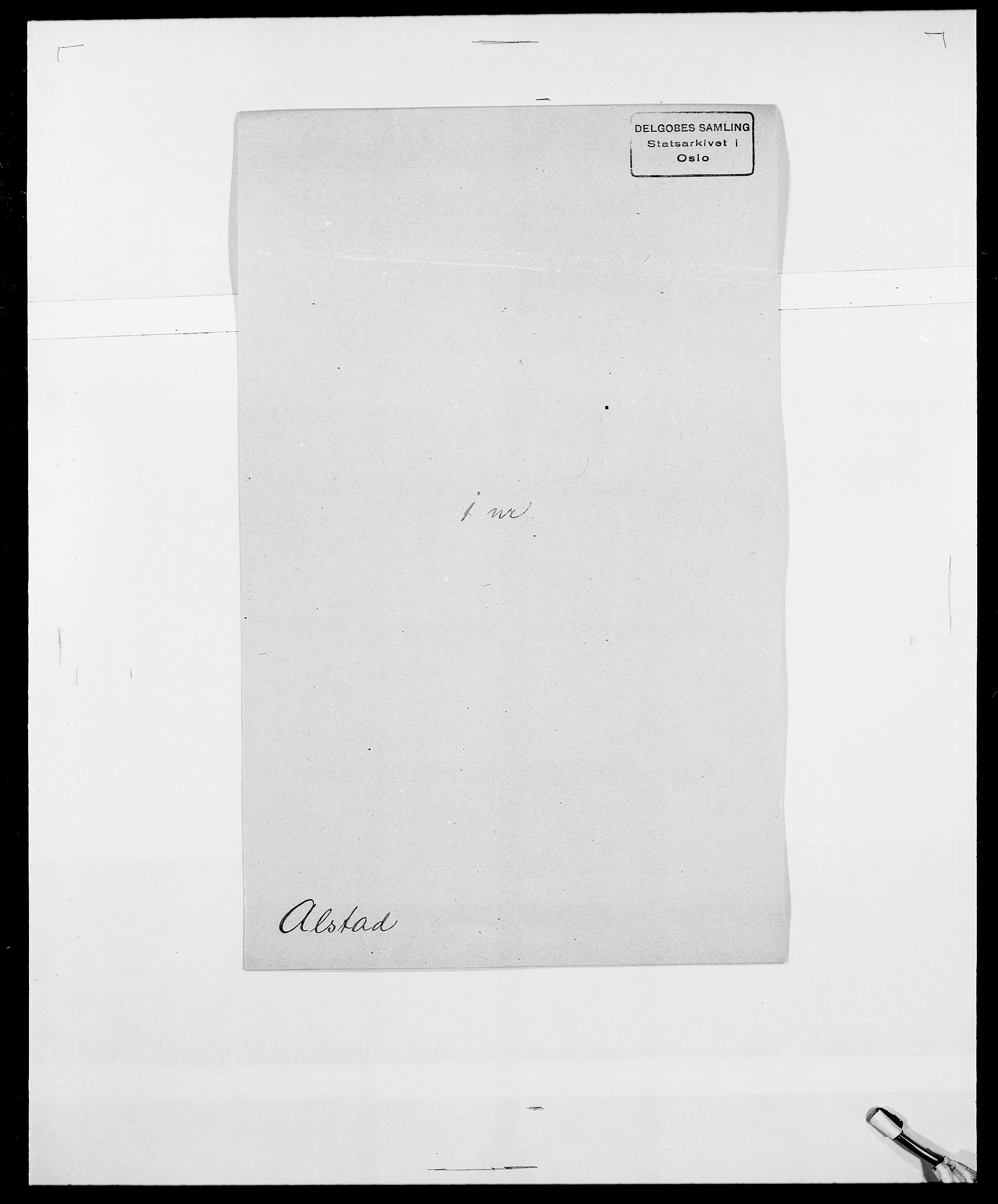 SAO, Delgobe, Charles Antoine - samling, D/Da/L0001: Aabye - Angerman, s. 469
