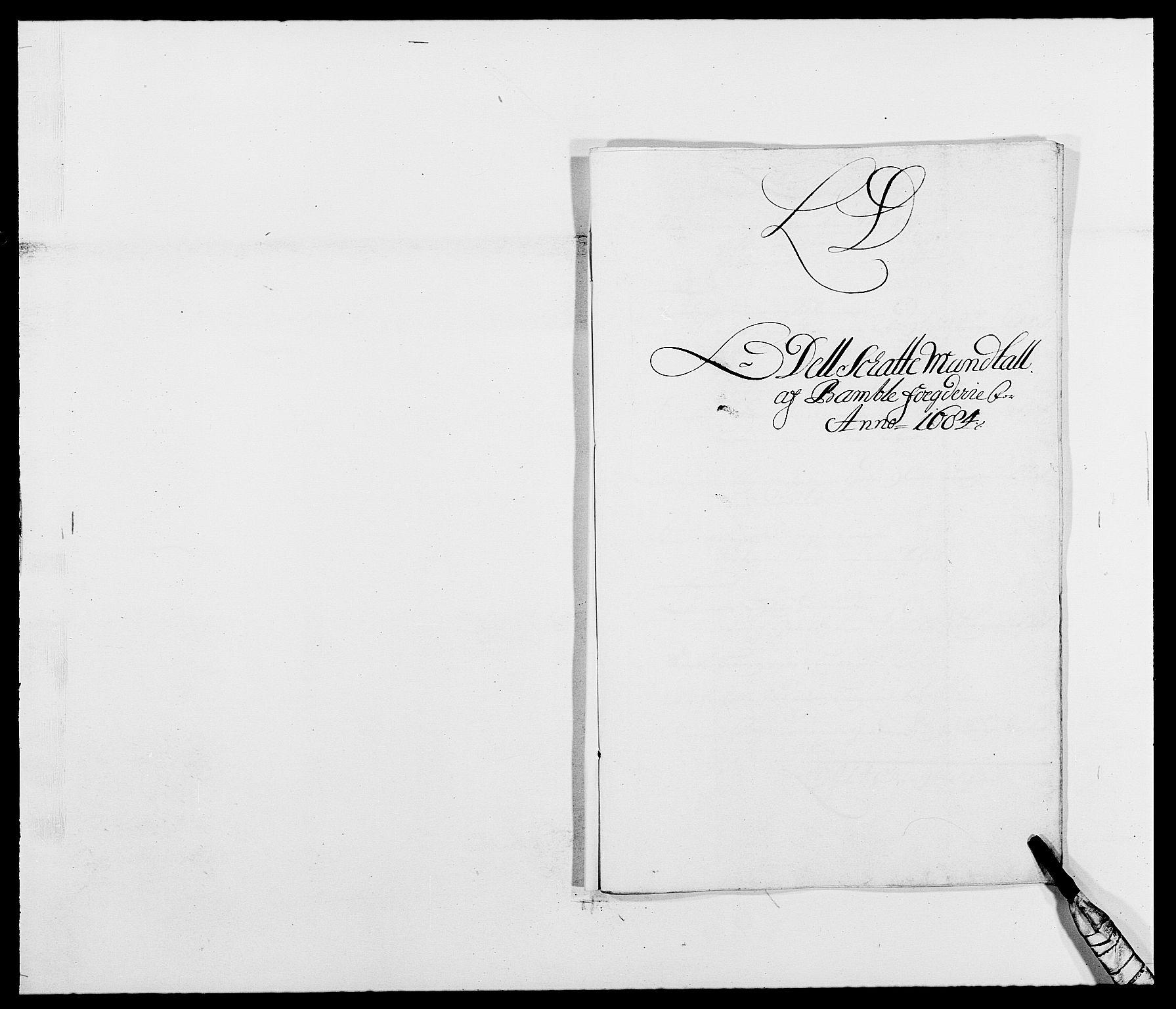 RA, Rentekammeret inntil 1814, Reviderte regnskaper, Fogderegnskap, R34/L2047: Fogderegnskap Bamble, 1684, s. 41