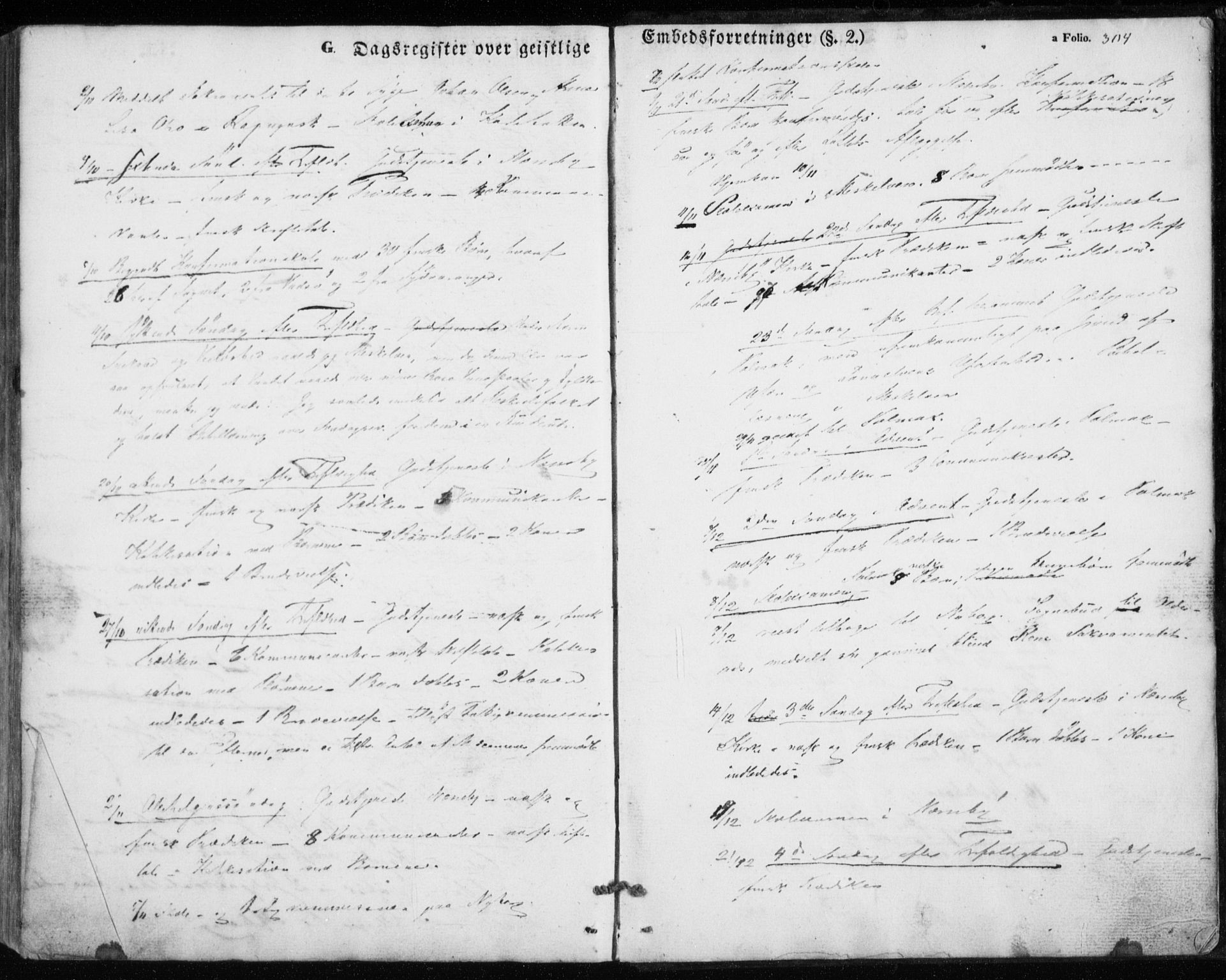 SATØ, Nesseby sokneprestkontor, H/Ha/L0002kirke: Ministerialbok nr. 2, 1856-1864, s. 304