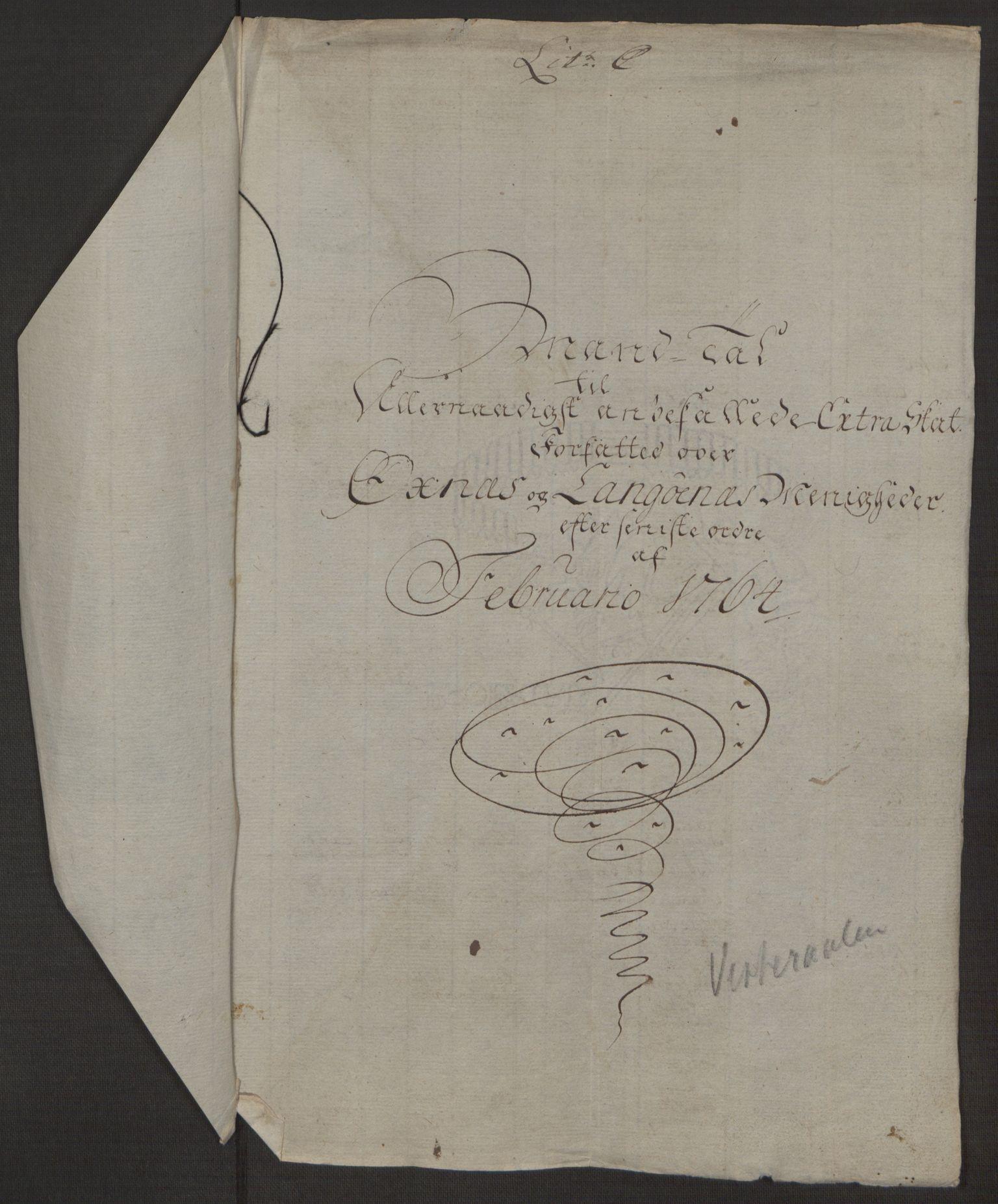 RA, Rentekammeret inntil 1814, Realistisk ordnet avdeling, Ol/L0022a: [Gg 10]: Ekstraskatten, 23.09.1762. Nordlands amt, 1763-1769, s. 79