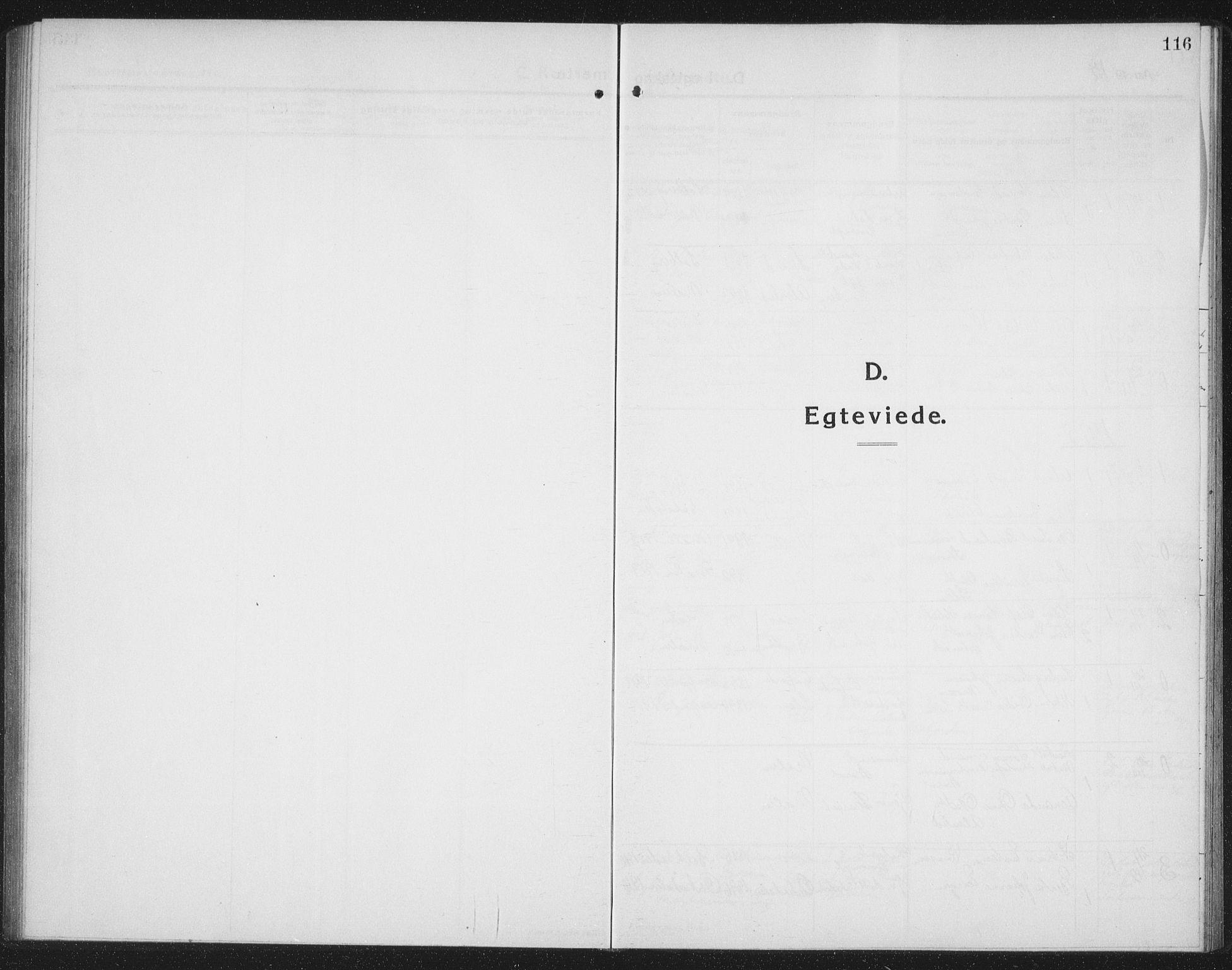 SAT, Ministerialprotokoller, klokkerbøker og fødselsregistre - Nord-Trøndelag, 745/L0434: Klokkerbok nr. 745C03, 1914-1937, s. 116