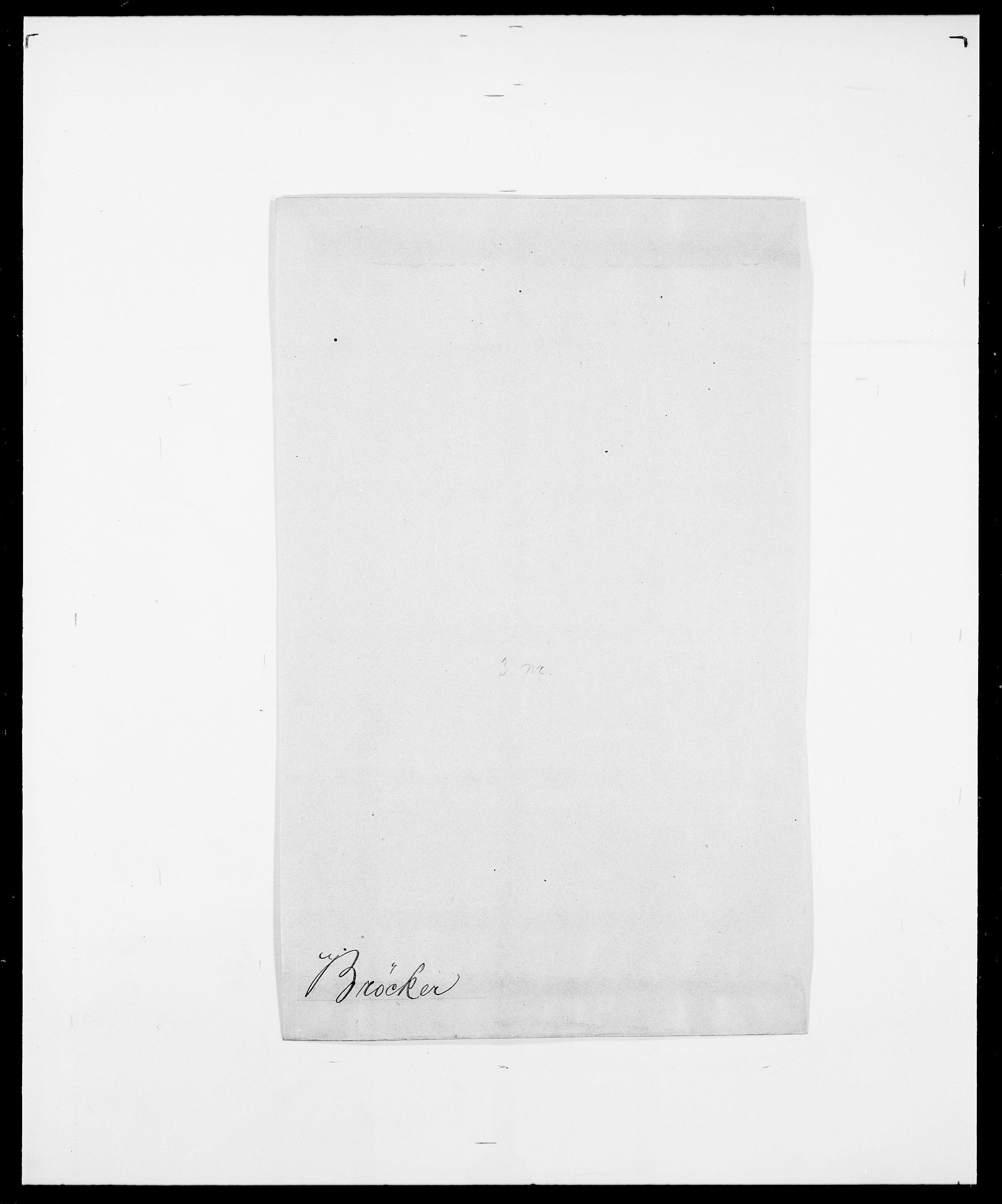 SAO, Delgobe, Charles Antoine - samling, D/Da/L0006: Brambani - Brønø, s. 938